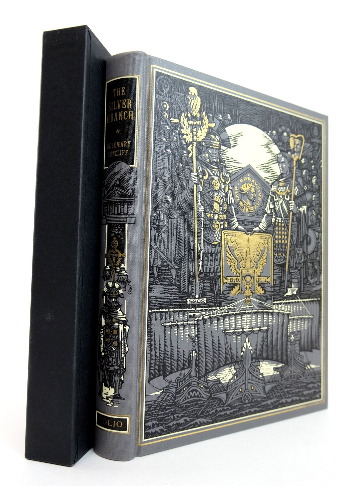 Photo of THE SILVER BRANCH written by Sutcliff, Rosemary illustrated by Pisarev, Roman published by Folio Society (STOCK CODE: 1818929)  for sale by Stella & Rose's Books