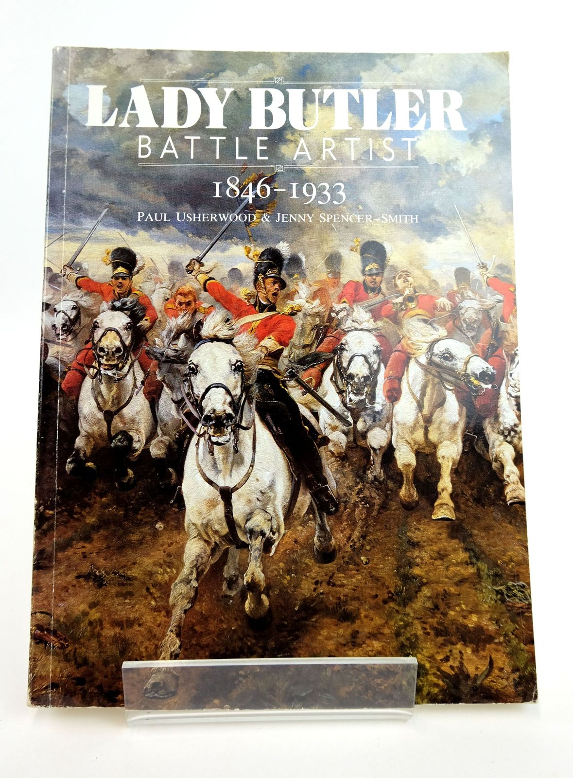 Photo of LADY BUTLER BATTLE ARTIST 1846-1933 written by Usherwood, Paul Spencer-Smith, Jenny illustrated by Butler, Elizabeth published by Alan Sutton (STOCK CODE: 1818953)  for sale by Stella & Rose's Books