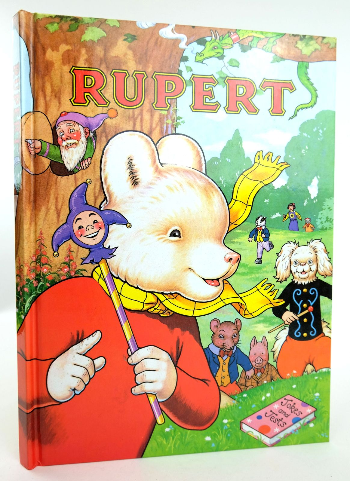 Photo of RUPERT ANNUAL 1993 written by Robinson, Ian illustrated by Harrold, John published by Pedigree Books Limited (STOCK CODE: 1818976)  for sale by Stella & Rose's Books