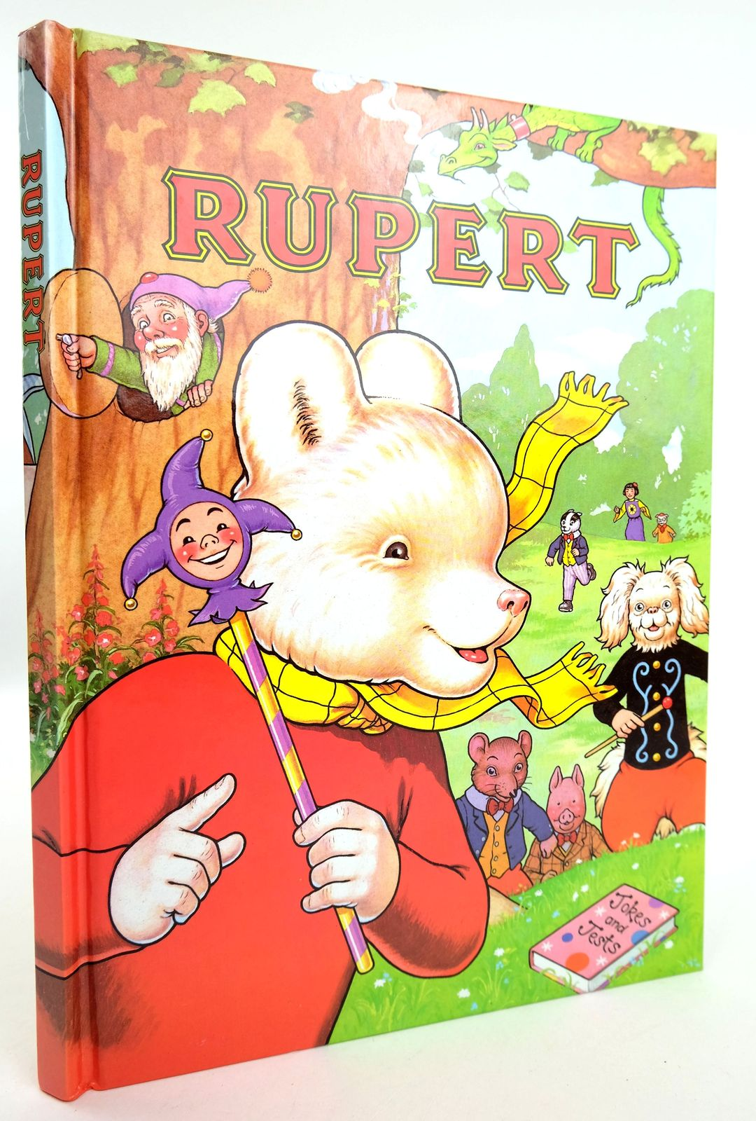 Photo of RUPERT ANNUAL 1993 written by Robinson, Ian illustrated by Harrold, John published by Pedigree Books Limited (STOCK CODE: 1818980)  for sale by Stella & Rose's Books