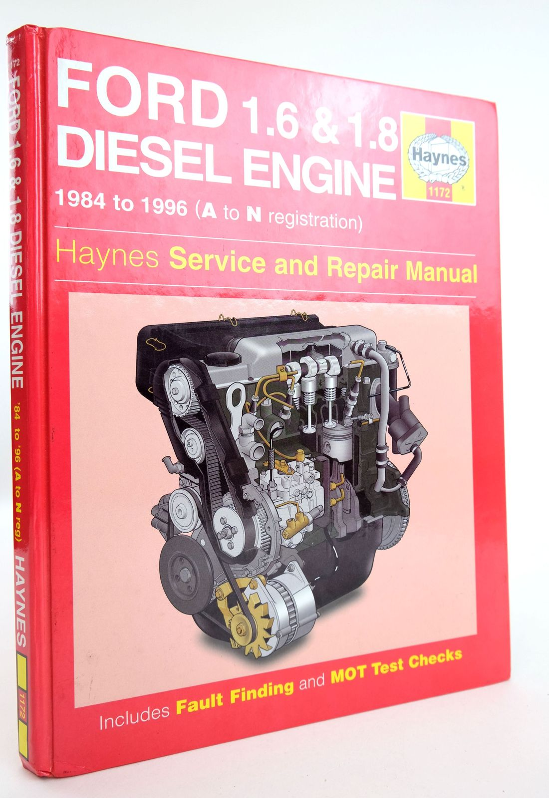 Photo of FORD DIESEL ENGINE: SERVICE AND REPAIR MANUAL written by Minter, Matthew Rogers, Christopher published by Haynes Publishing (STOCK CODE: 1818982)  for sale by Stella & Rose's Books