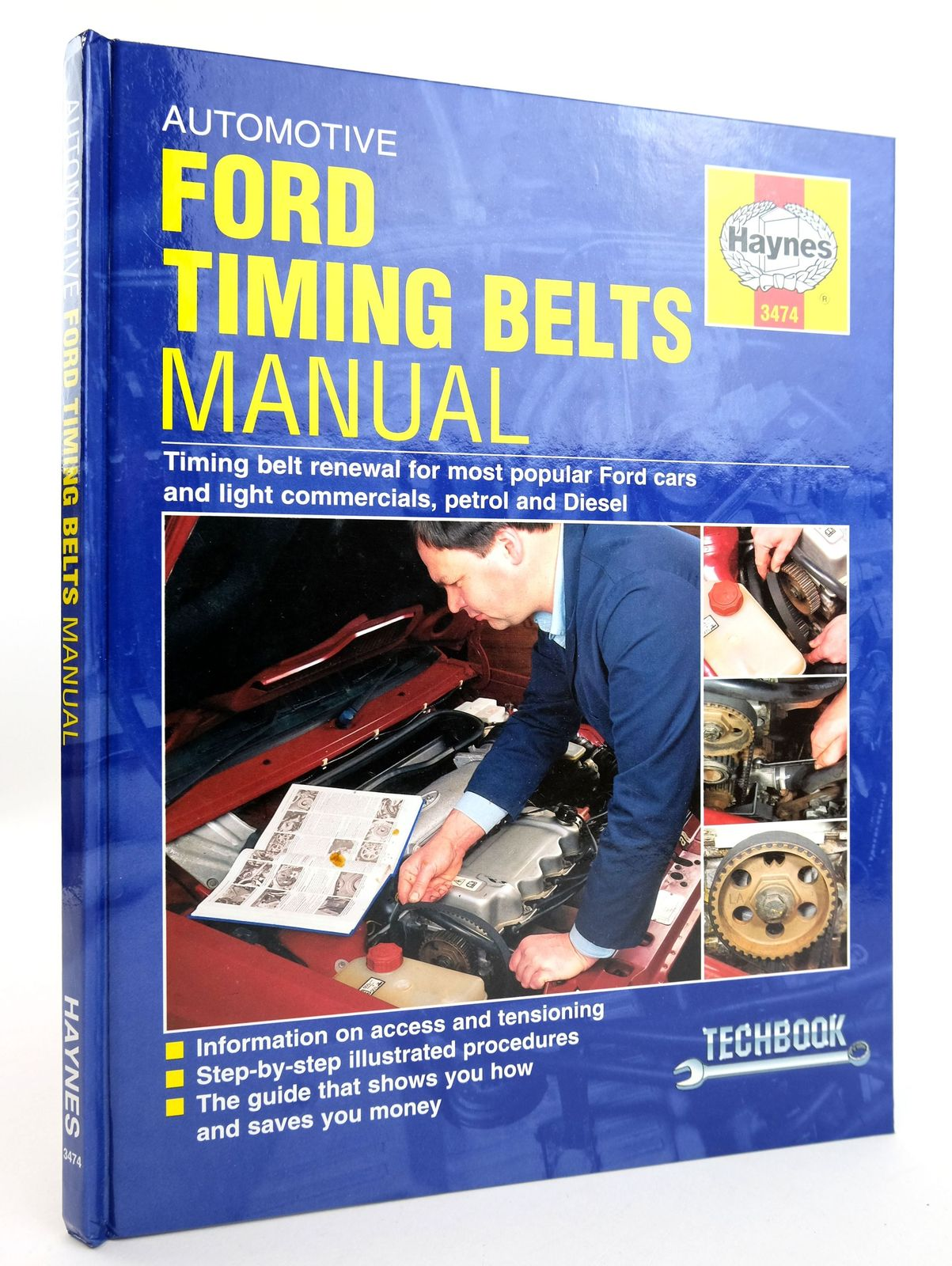 Photo of FORD TIMING BELT RENEWAL MANUAL (TECHBOOK)- Stock Number: 1818983
