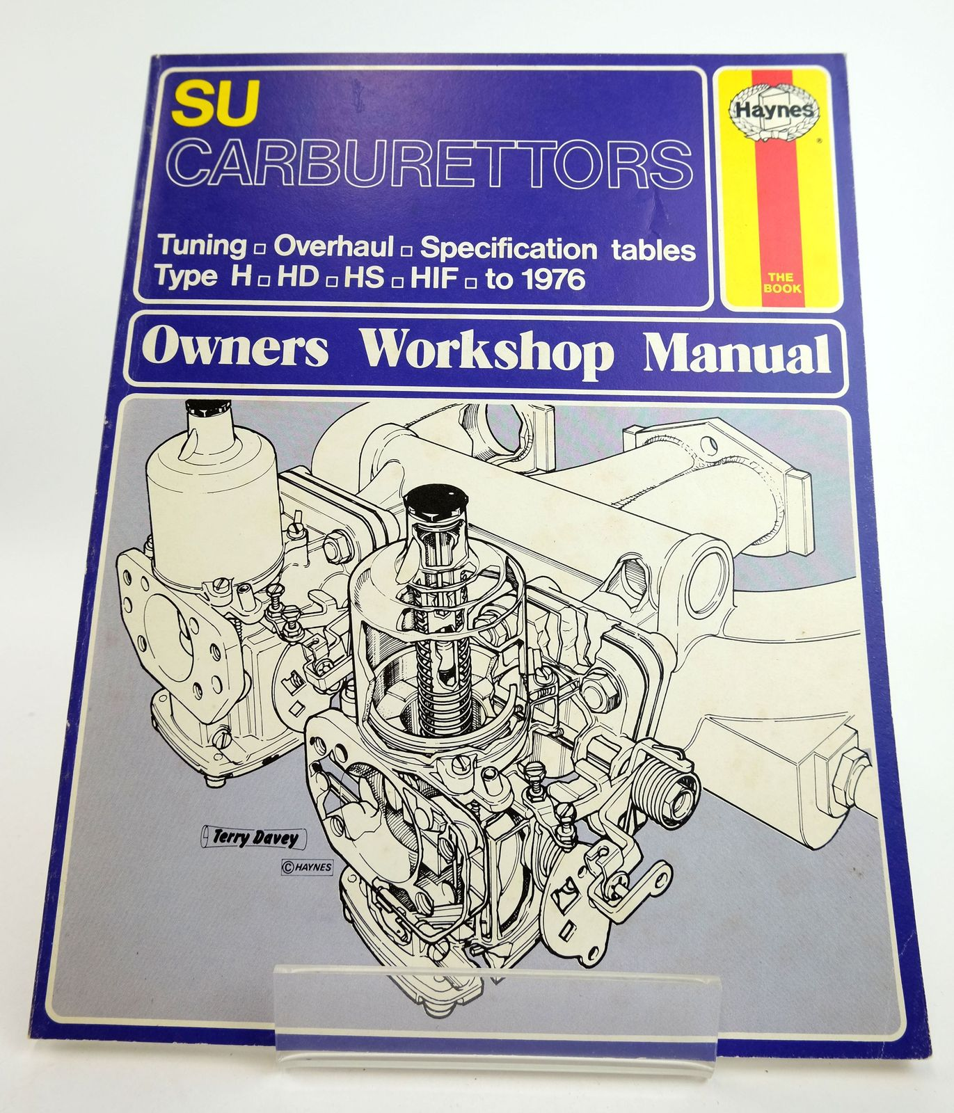 Photo of SU CARBURETTORS OWNERS WORKSHOP MANUAL written by Peers, Don published by Haynes Publishing Group (STOCK CODE: 1818984)  for sale by Stella & Rose's Books