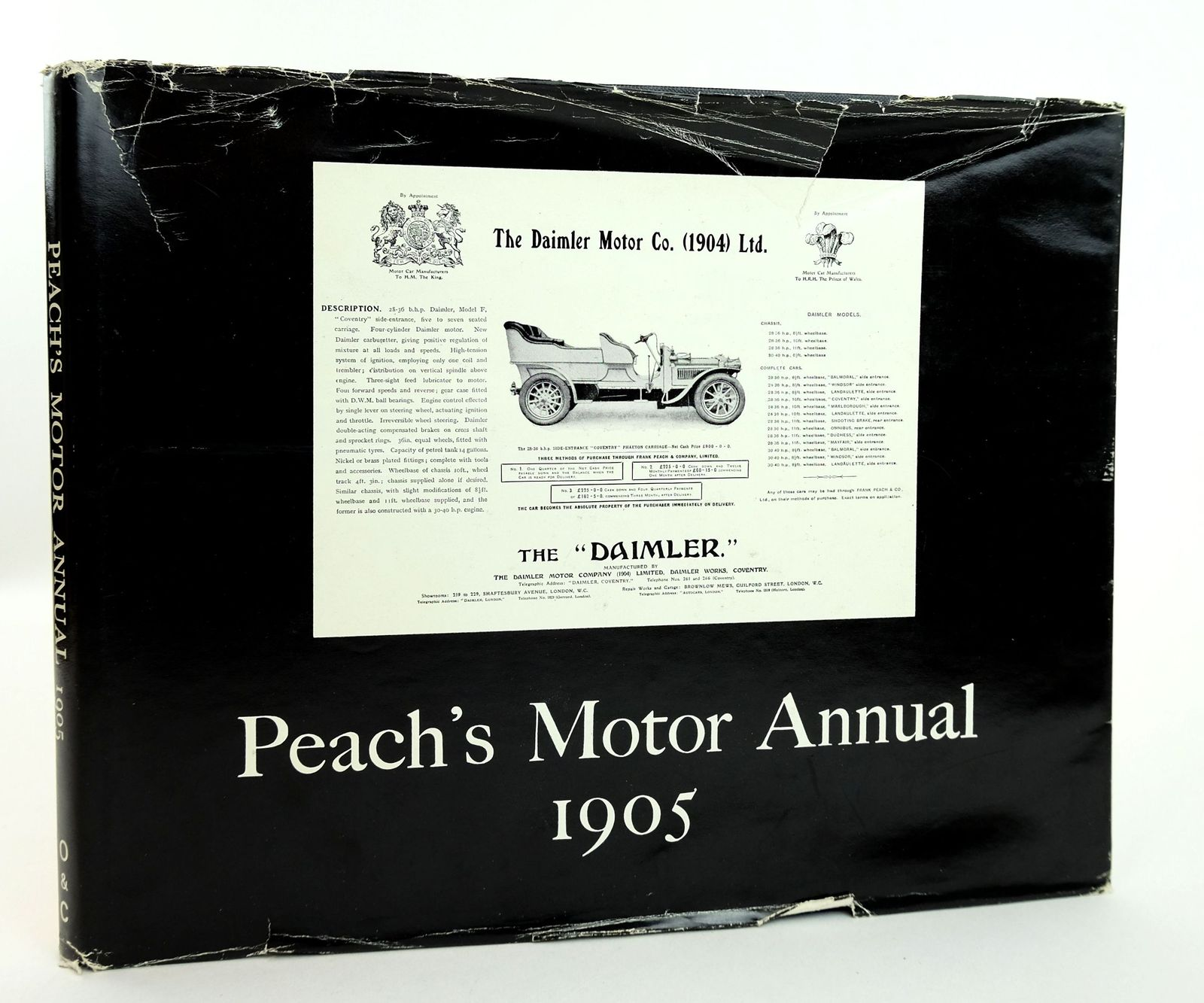 Photo of PEACH'S MOTOR ANNUAL 1905- Stock Number: 1818989