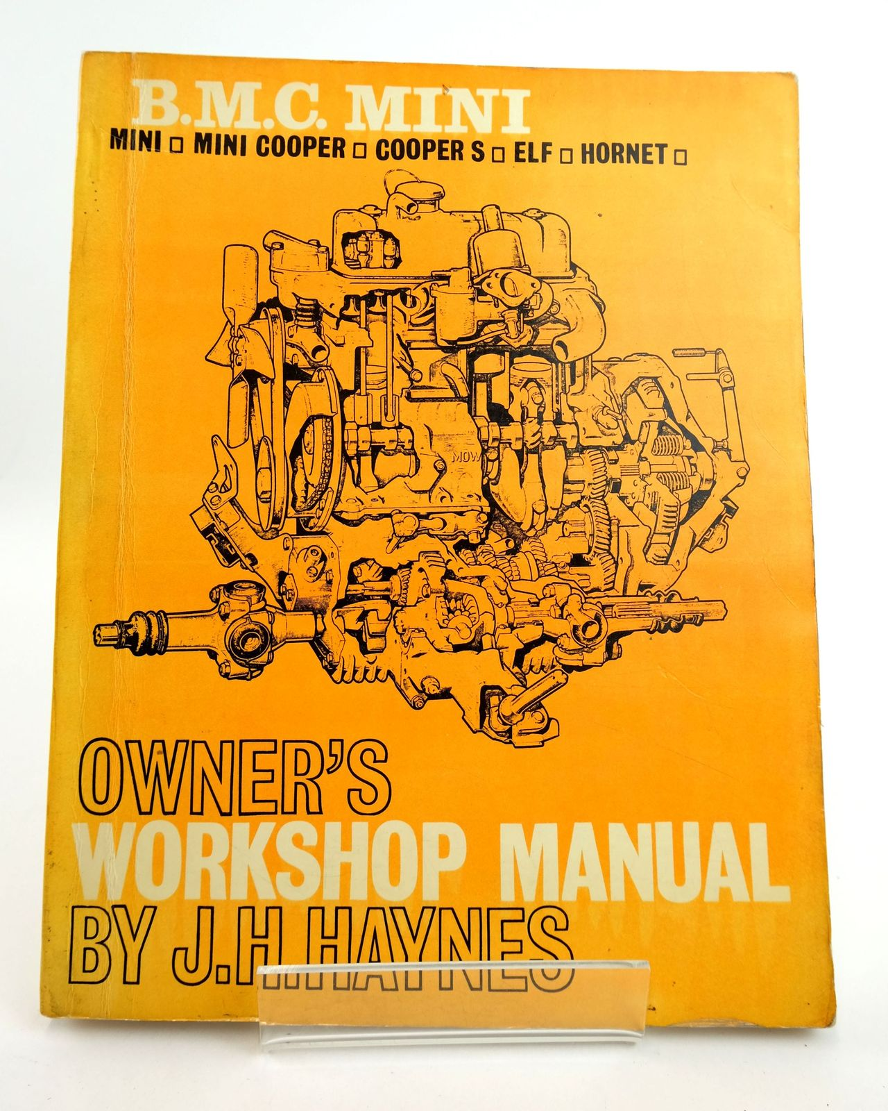 Photo of B.M.C. MINI OWNER'S WORKSHOP MANUAL written by Haynes, John H. published by J.H. Haynes & Co. Ltd. (STOCK CODE: 1818990)  for sale by Stella & Rose's Books