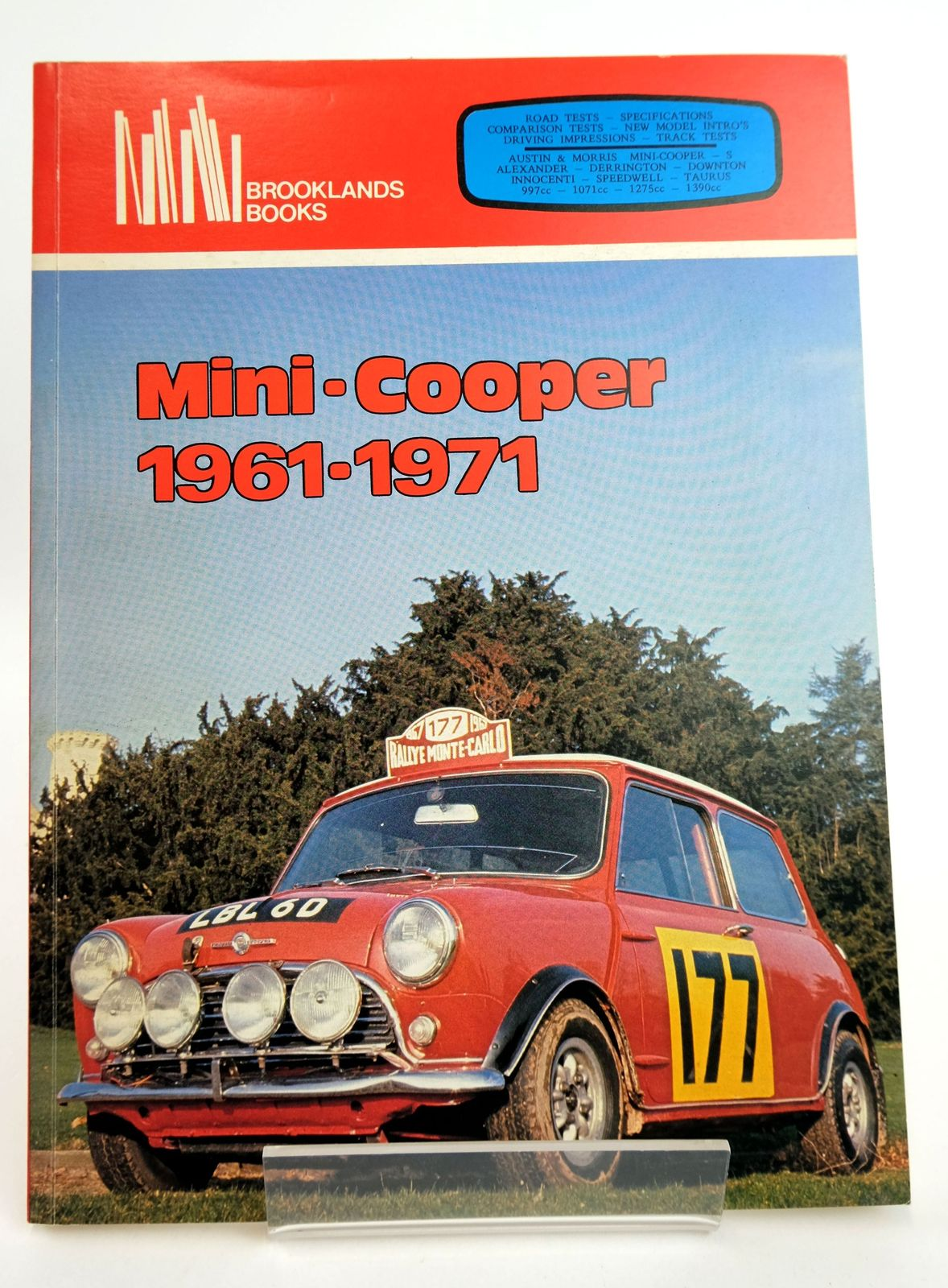 Photo of MINI-COOPER 1961-1971 written by Clarke, R.M. published by Brooklands Books (STOCK CODE: 1818991)  for sale by Stella & Rose's Books