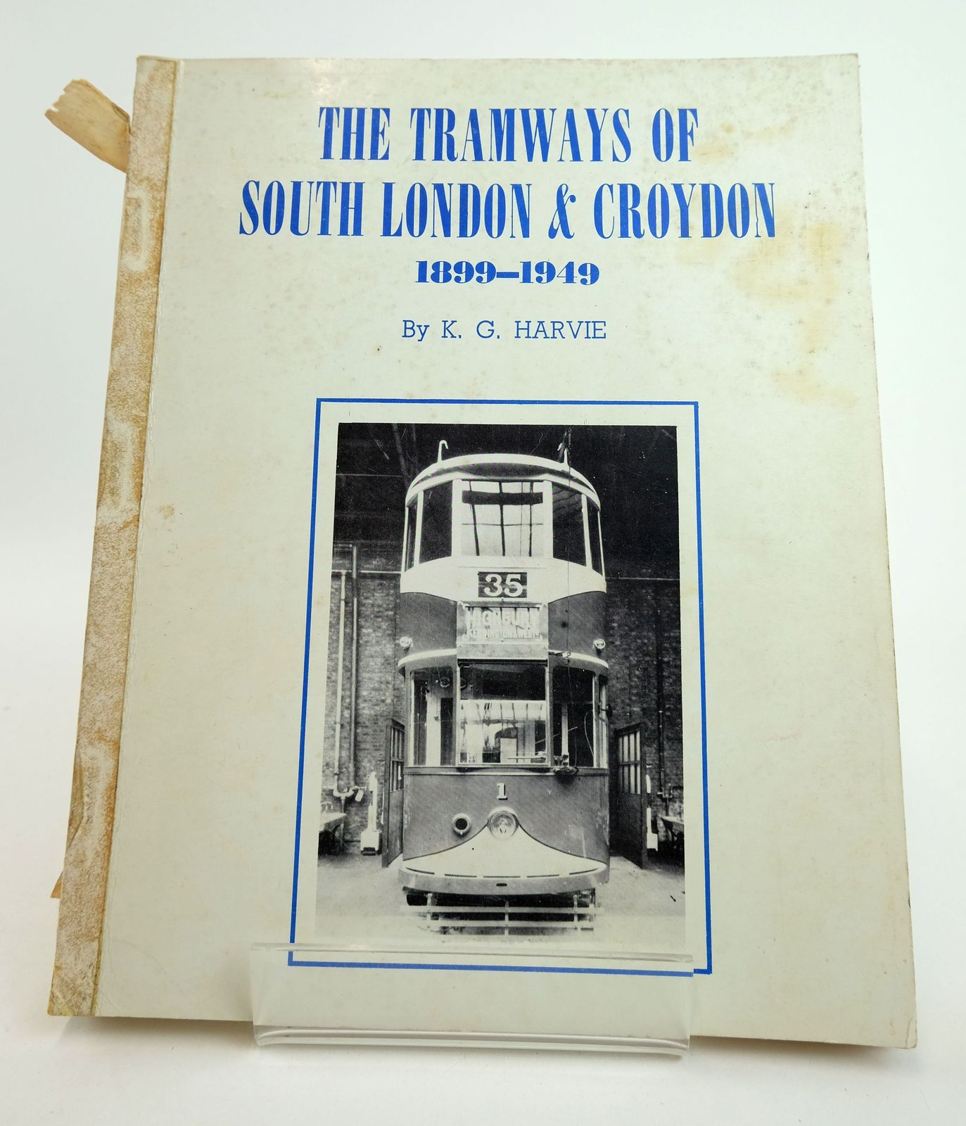 Photo of THE TRAMWAYS OF SOUTH LONDON & CROYDON 1899-1949