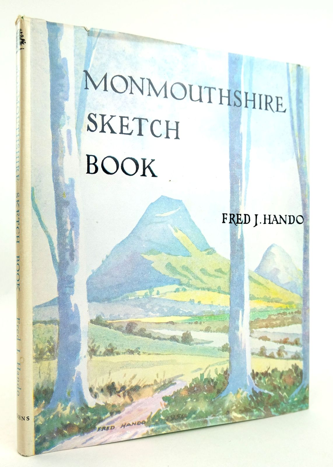 Photo of MONMOUTHSHIRE SKETCH BOOK written by Hando, Fred J. illustrated by Hando, Fred J. published by R.H. Johns Limited (STOCK CODE: 1819064)  for sale by Stella & Rose's Books