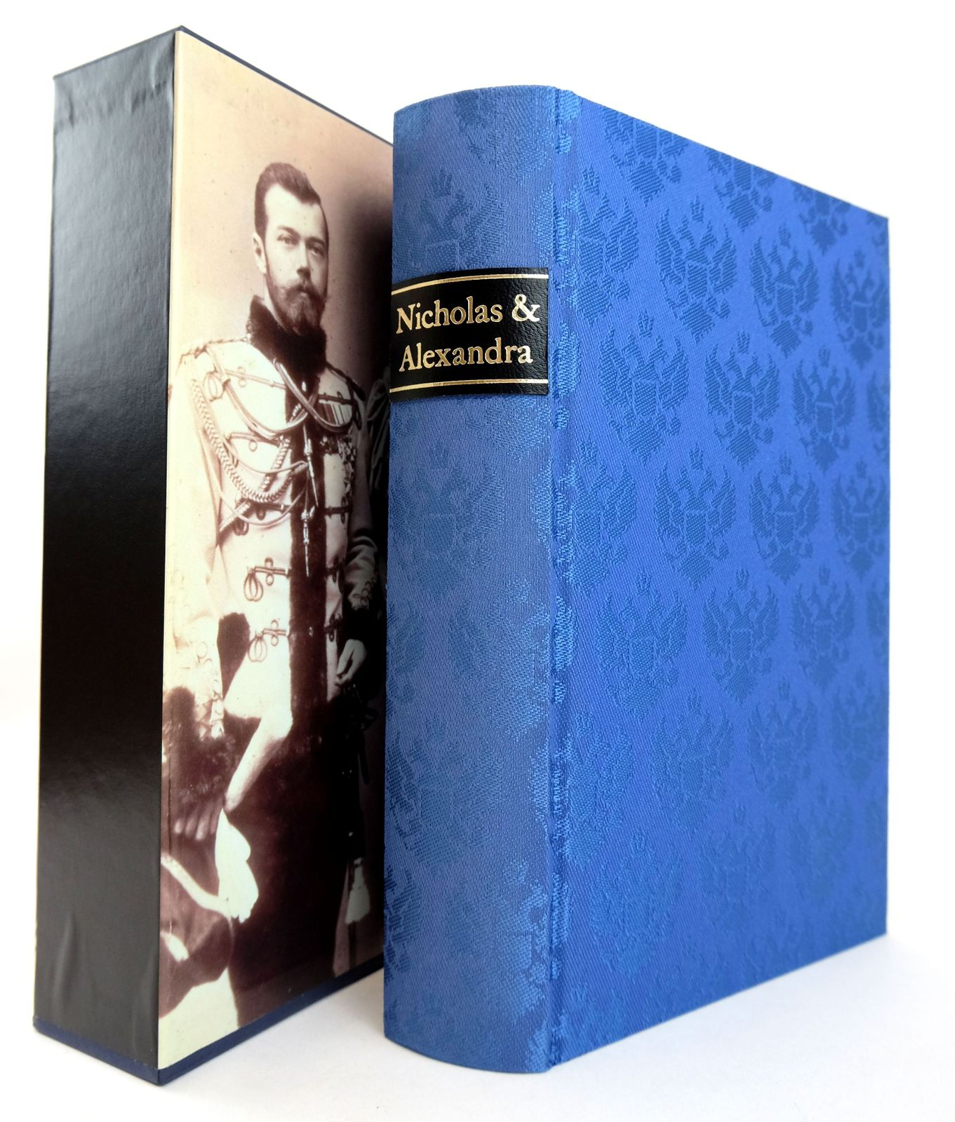 Photo of NICHOLAS AND ALEXANDRA written by Massie, Robert K. published by Folio Society (STOCK CODE: 1819092)  for sale by Stella & Rose's Books