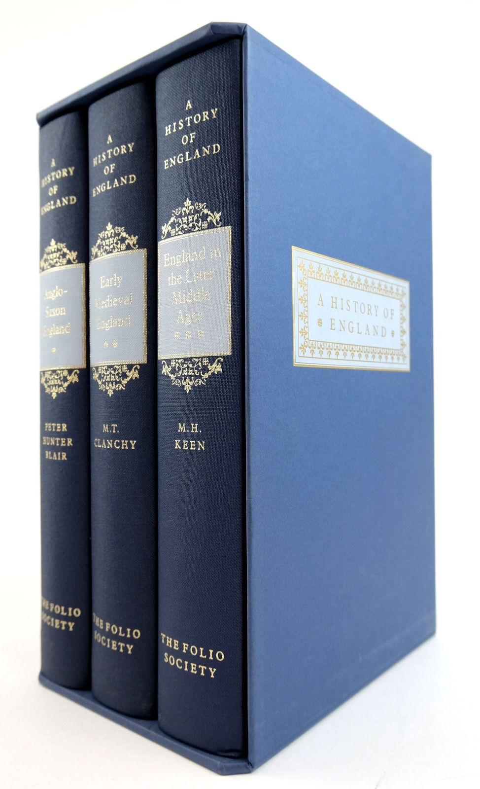 Photo of A HISTORY OF ENGLAND (3 VOLUMES) written by Keen, M.H. Blair, Peter Hunter Clanchy, M.T. published by Folio Society (STOCK CODE: 1819101)  for sale by Stella & Rose's Books