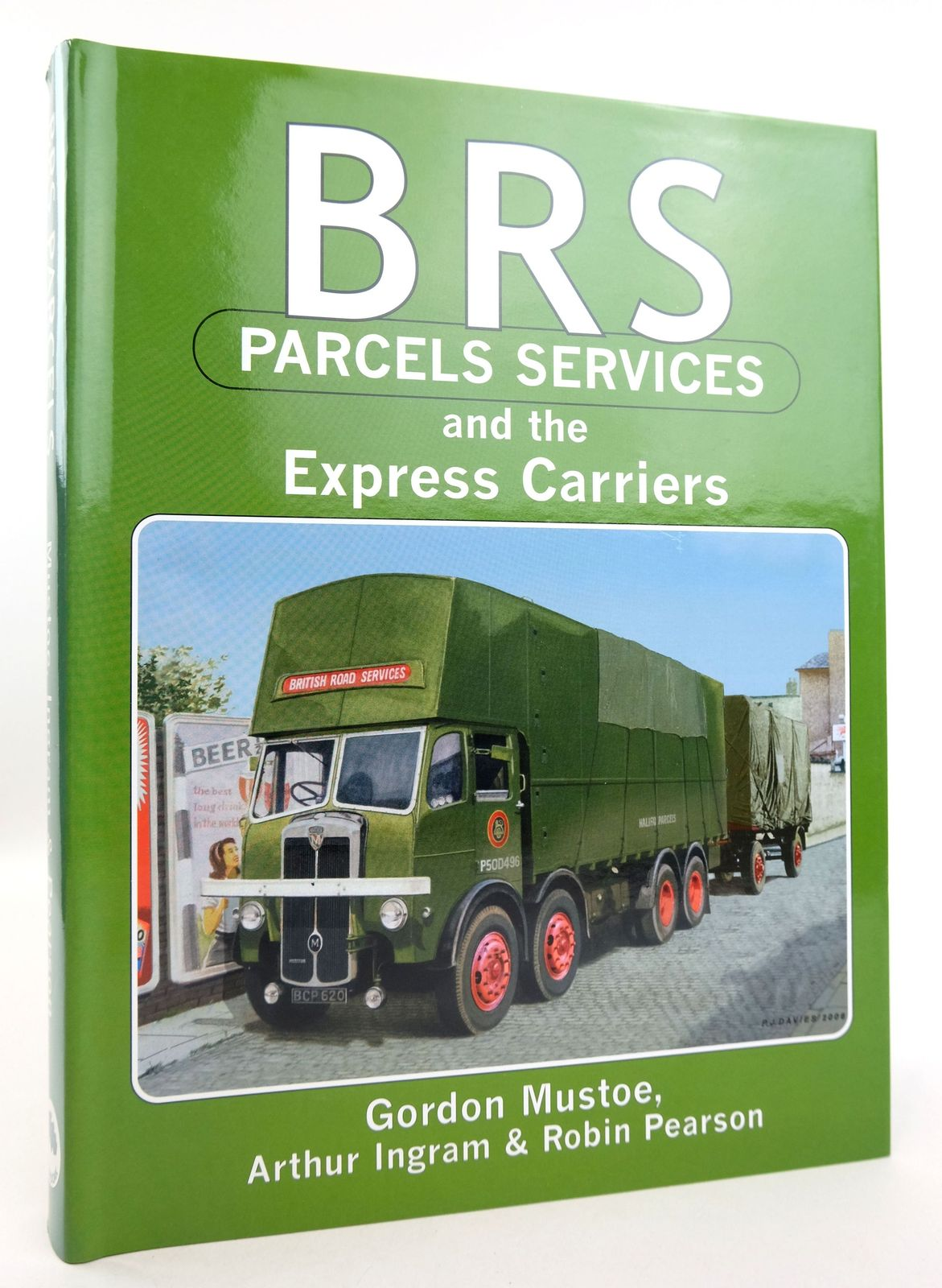 Photo of BRS PARCELS SERVICES AND THE EXPRESS CARRIERS written by Mustoe, Gordon