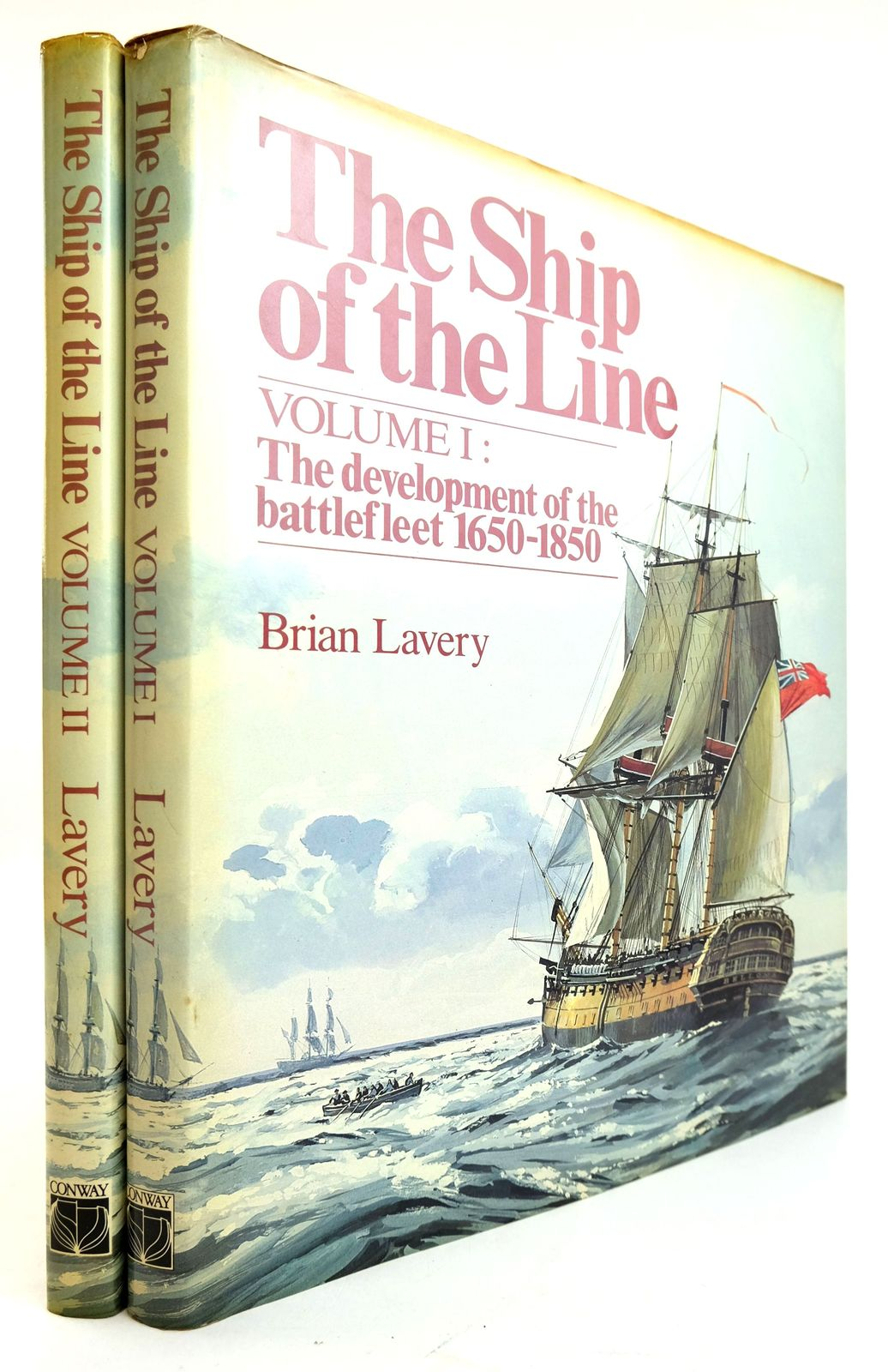 Photo of THE SHIP OF THE LINE (2 VOLUMES) written by Lavery, Brian published by Conway Maritime Press (STOCK CODE: 1819114)  for sale by Stella & Rose's Books