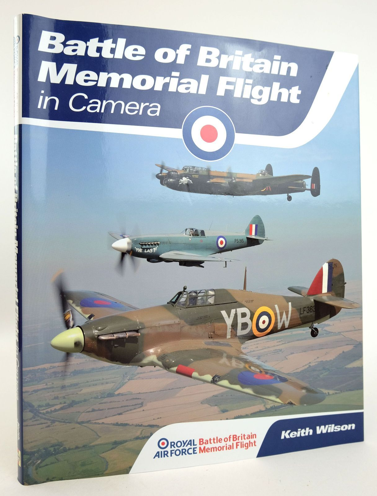 Photo of BATTLE OF BRITAIN MEMORIAL FLIGHT IN CAMERA- Stock Number: 1819127