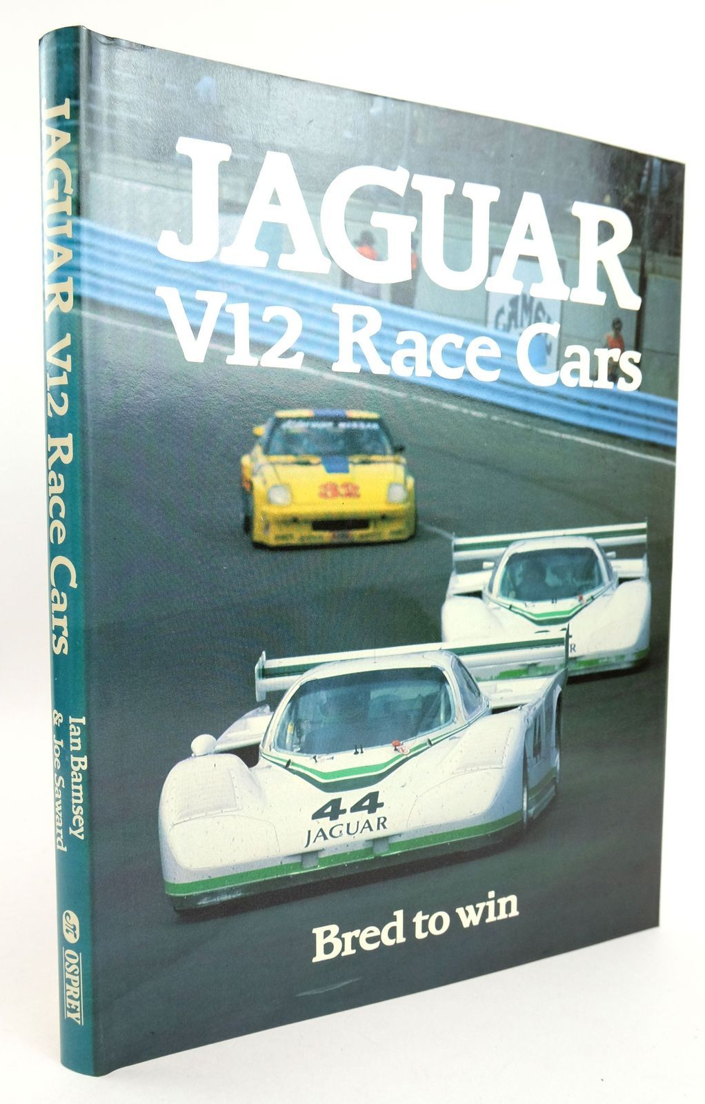 Photo of JAGUAR V12 RACE CARS written by Bamsey, Ian Saward, Joe published by Osprey Publishing (STOCK CODE: 1819132)  for sale by Stella & Rose's Books