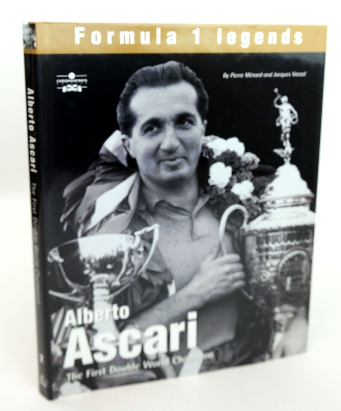 Photo of ALBERTO ASCARI: THE FIRST DOUBLE WORLD CHAMPION written by Menard, Pierre Vassal, Jacques published by Chronosports (STOCK CODE: 1819134)  for sale by Stella & Rose's Books