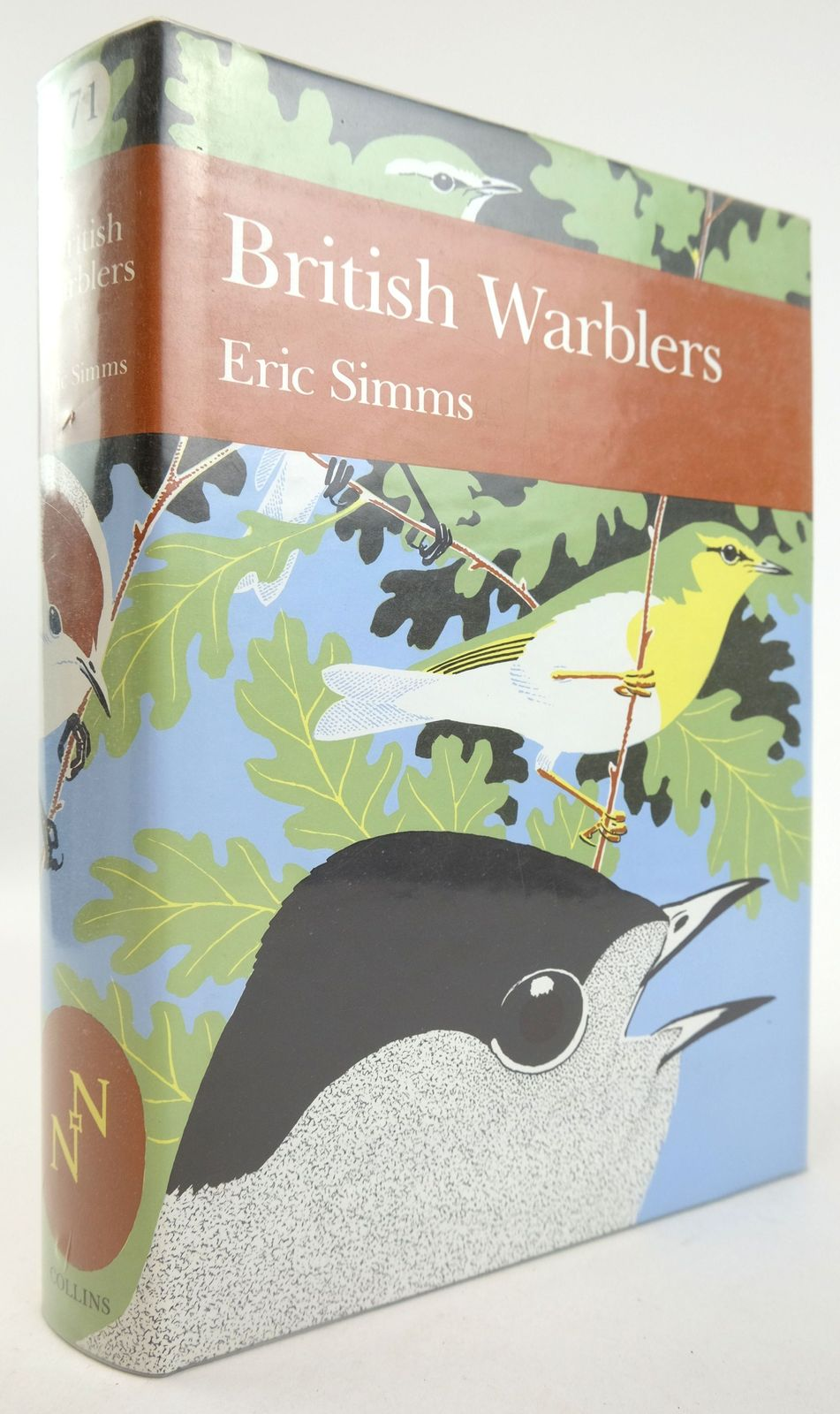 Photo of BRITISH WARBLERS (NN 71) written by Simms, Eric illustrated by Wallace, Ian published by Collins (STOCK CODE: 1819137)  for sale by Stella & Rose's Books