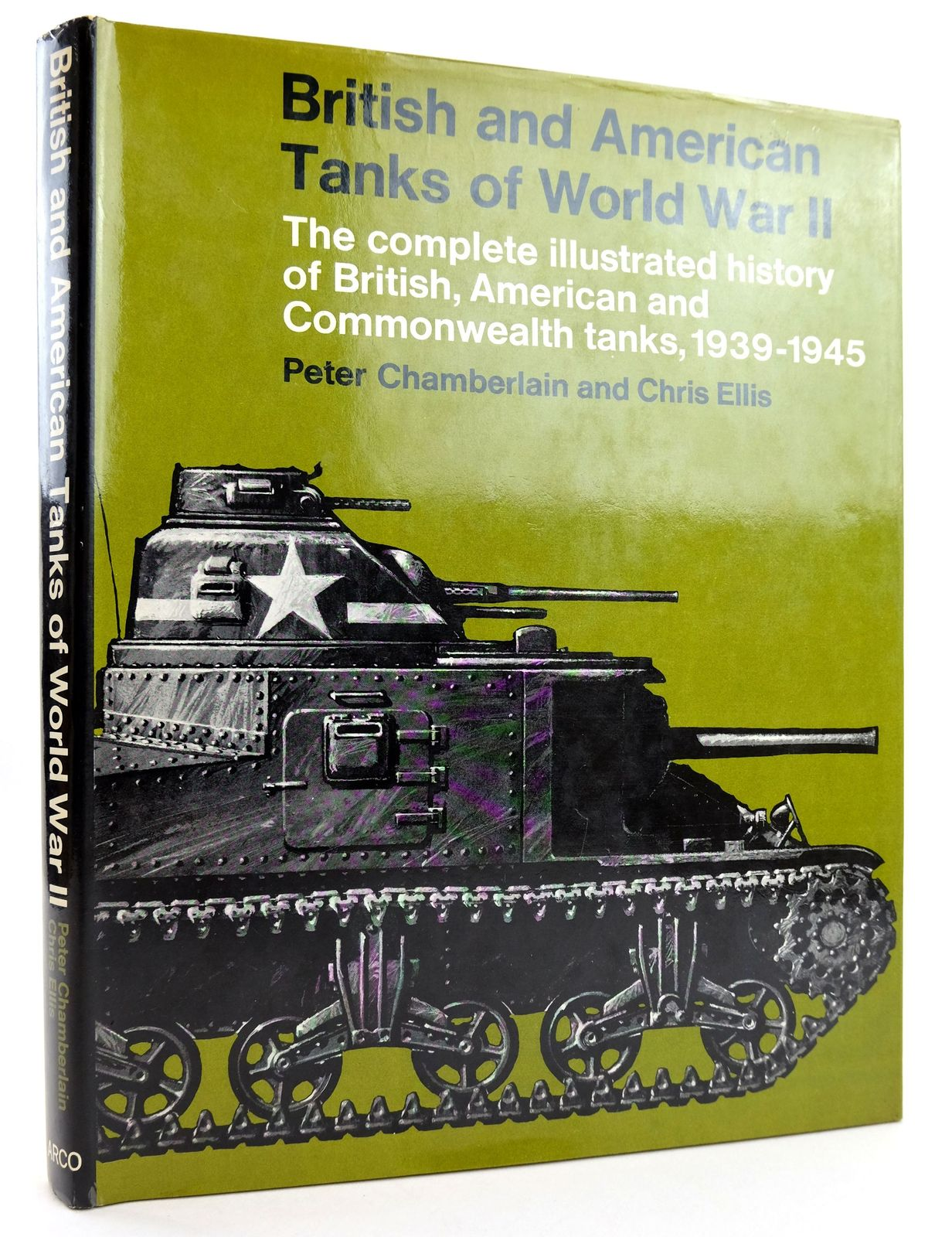 Photo of BRITISH AND AMERICAN TANKS OF WORLD WAR II- Stock Number: 1819157