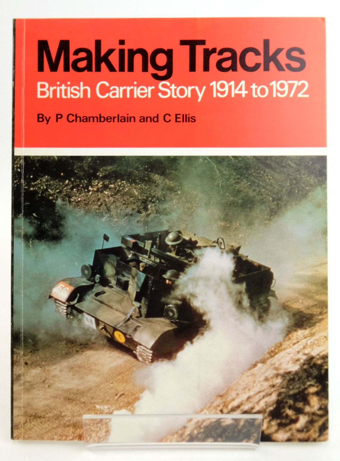 Photo of MAKING TRACKS: BRITISH CARRIER STORY 1914 TO 1972- Stock Number: 1819167