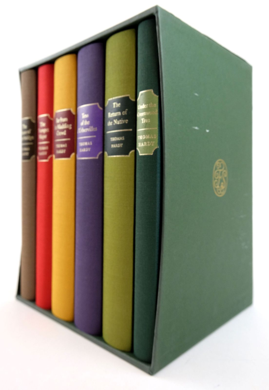 Photo of THE MAYOR OF CASTERBRIDGE; THE TRUMPET MAJOR; FAR FROM THE MADDING CROWD; TESS OF THE D'URBERVILLES; THE RETURN OF THE NATIVE; UNDER THE GREENWOOD TREE (6 VOLUMES) written by Hardy, Thomas published by Folio Society (STOCK CODE: 1819171)  for sale by Stella & Rose's Books