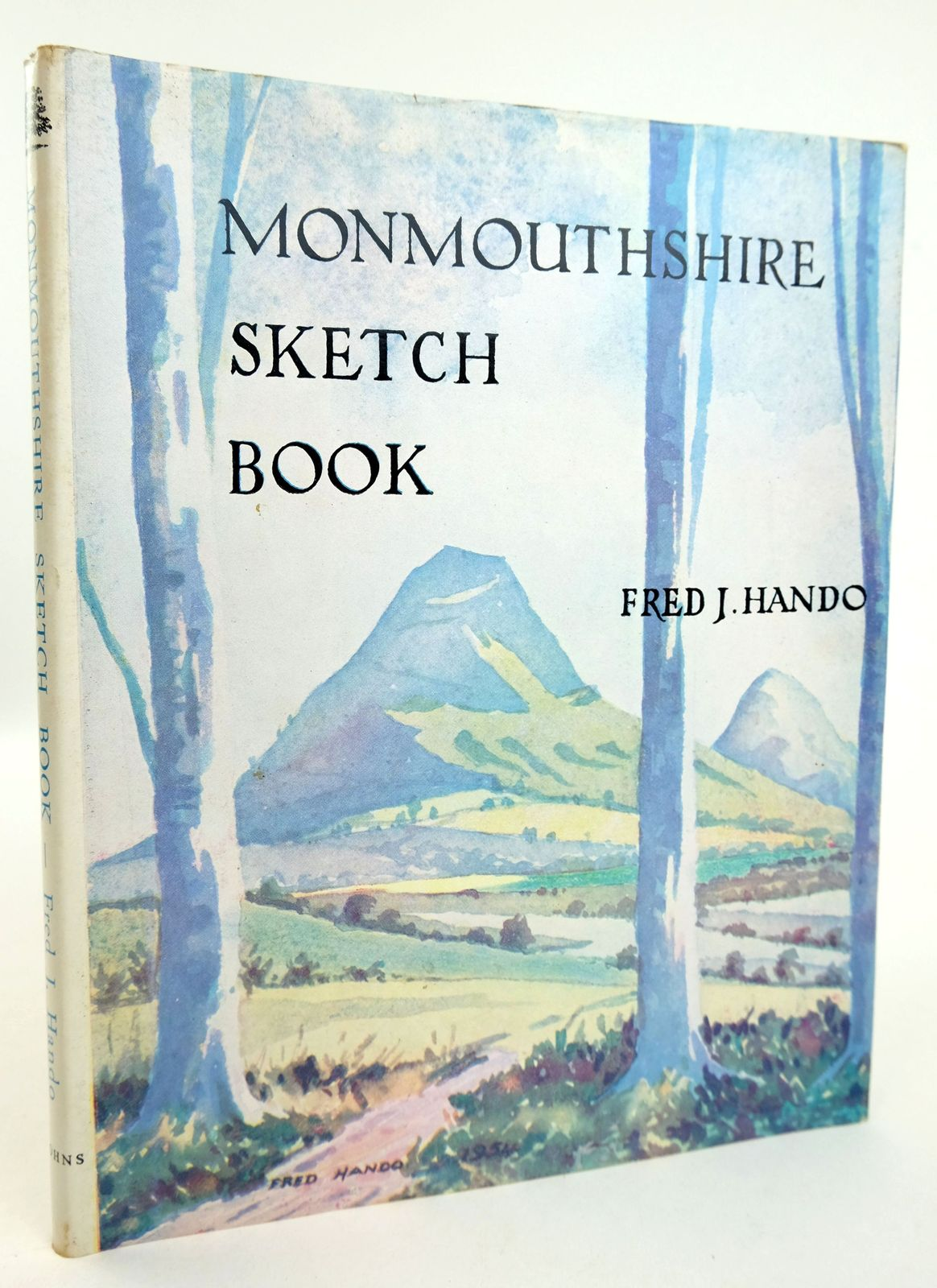 Photo of MONMOUTHSHIRE SKETCH BOOK written by Hando, Fred J. illustrated by Hando, Fred J. published by R.H. Johns Limited (STOCK CODE: 1819185)  for sale by Stella & Rose's Books
