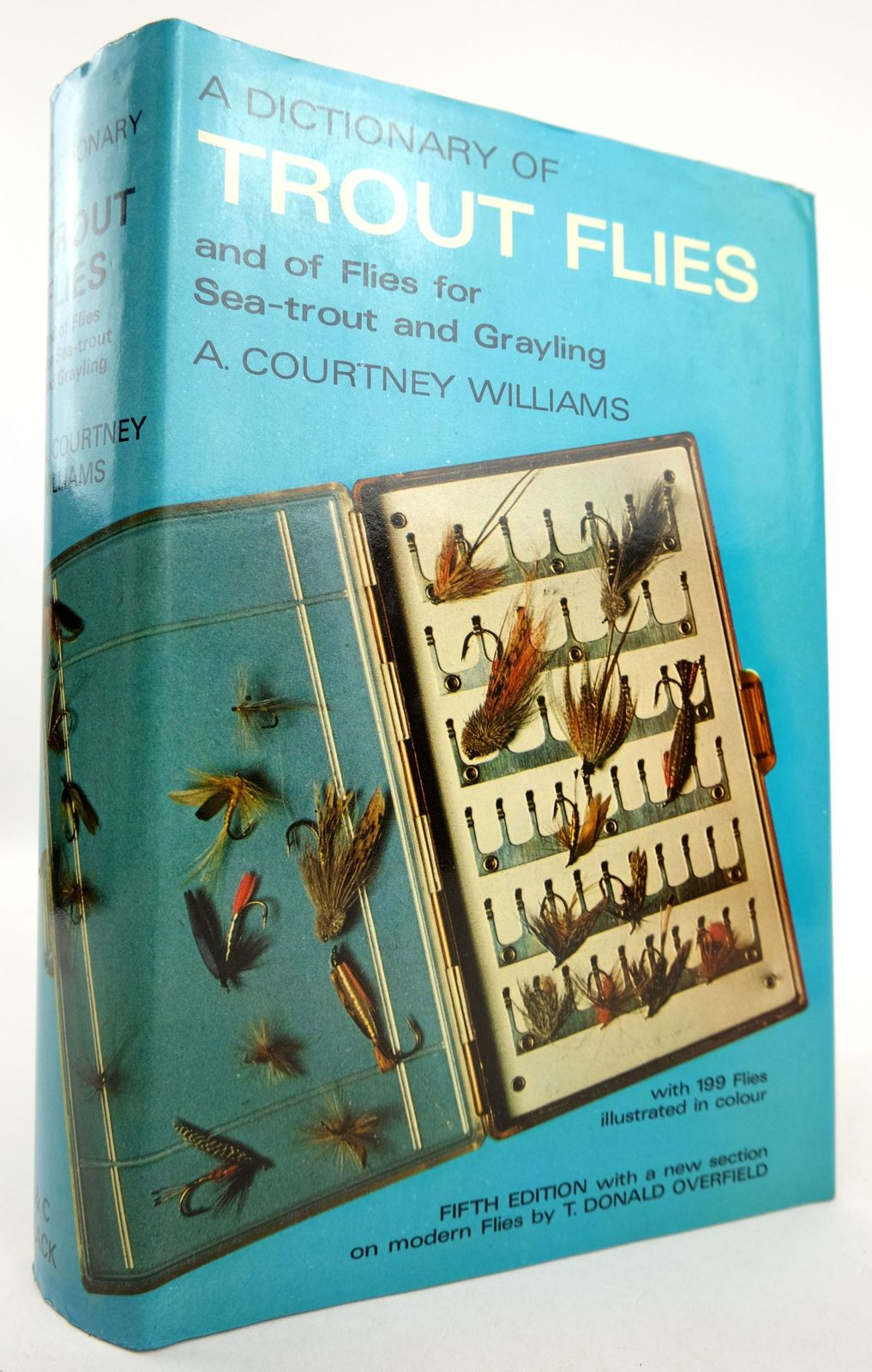 Photo of A DICTIONARY OF TROUT FLIES written by Williams, A. Courtney published by Adam & Charles Black (STOCK CODE: 1819202)  for sale by Stella & Rose's Books