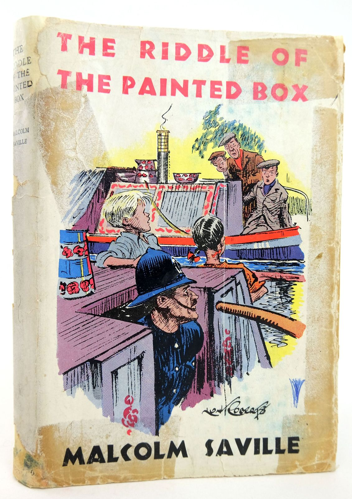 Photo of THE RIDDLE OF THE PAINTED BOX- Stock Number: 1819217