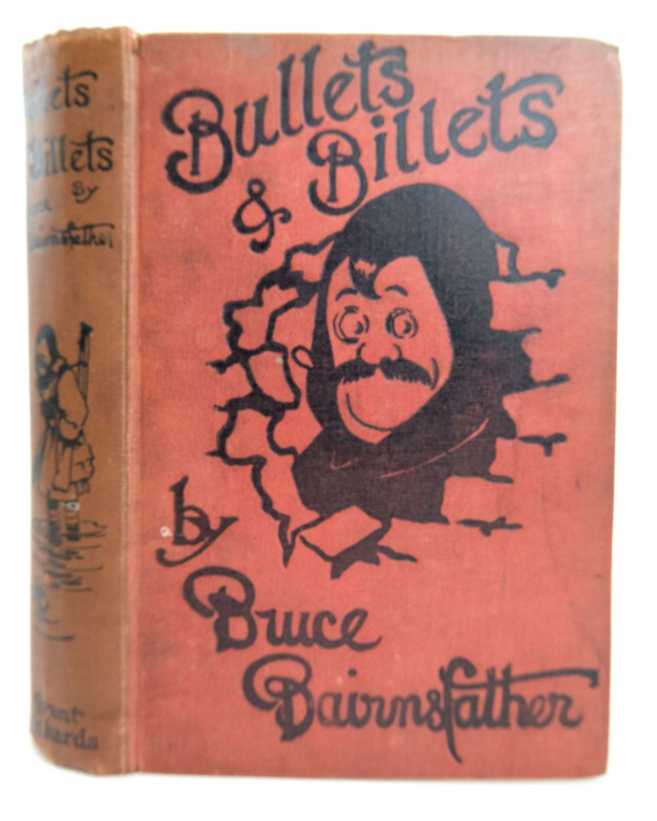 Photo of BULLETS AND BILLETS written by Bairnsfather, Bruce illustrated by Bairnsfather, Bruce published by Grant Richards (STOCK CODE: 1819225)  for sale by Stella & Rose's Books