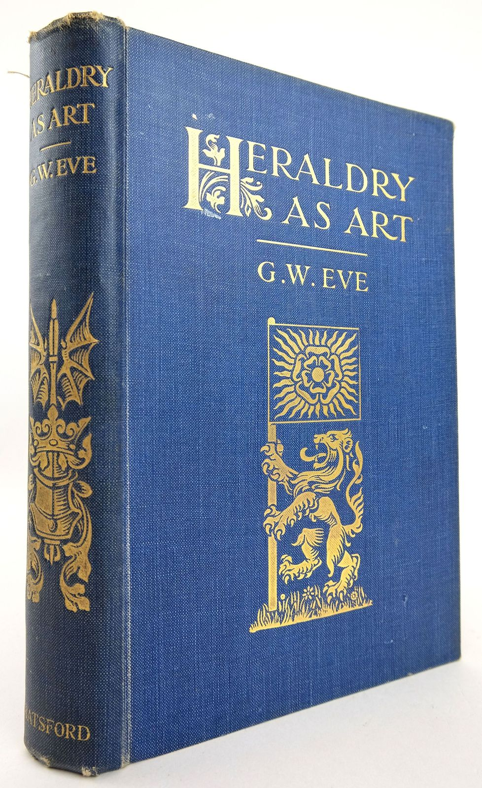Photo of HERALDRY AS ART: AN ACCOUNT OF ITS DEVELOPMENT AND PRACTICE CHIEFLY IN ENGLAND- Stock Number: 1819227