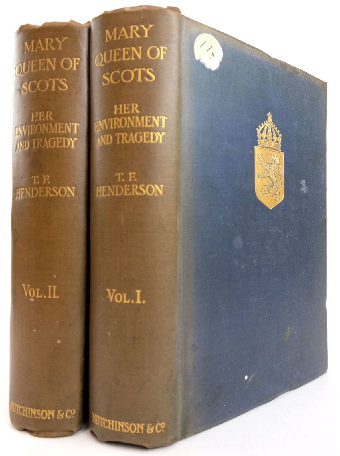 Photo of MARY QUEEN OF SCOTS: HER ENVIRONMENT AND TRAGEDY (2 VOLUMES) written by Henderson, T.F. published by Hutchinson & Co. (STOCK CODE: 1819232)  for sale by Stella & Rose's Books