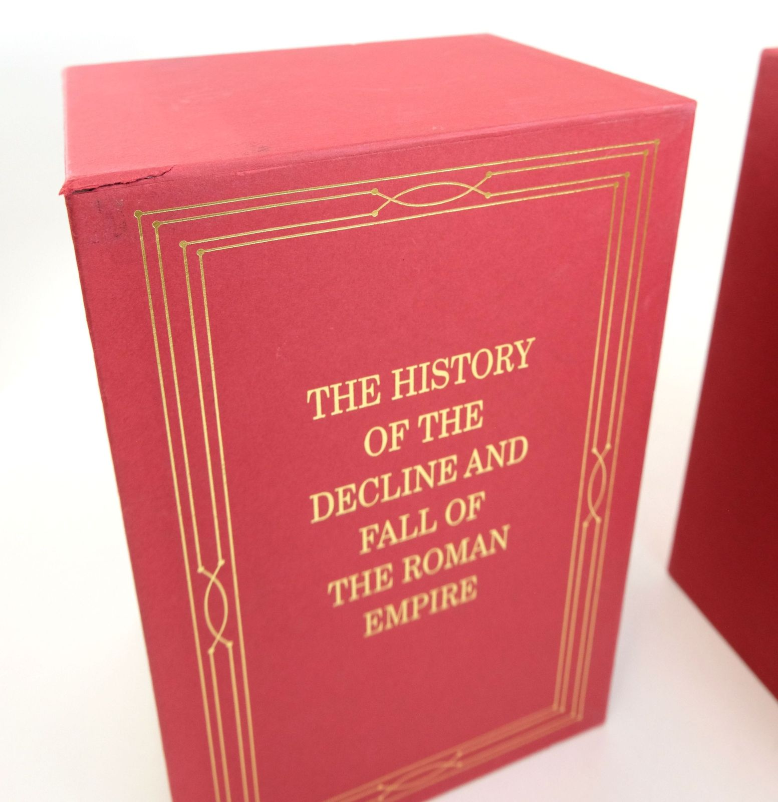 Photo of THE HISTORY OF THE DECLINE AND FALL OF THE ROMAN EMPIRE (8 VOLUMES) written by Gibbon, Edward published by Folio Society (STOCK CODE: 1819240)  for sale by Stella & Rose's Books