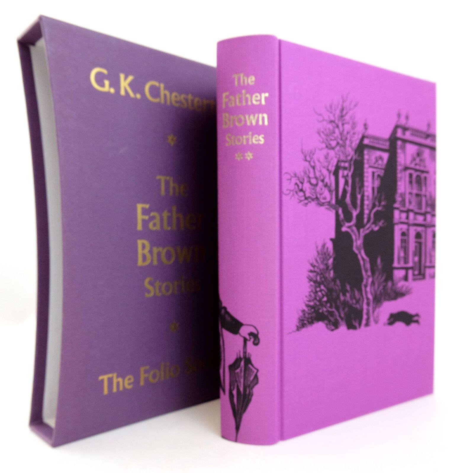 Photo of THE FATHER BROWN STORIES written by Chesterton, G.K. illustrated by Biro, Val published by Folio Society (STOCK CODE: 1819242)  for sale by Stella & Rose's Books