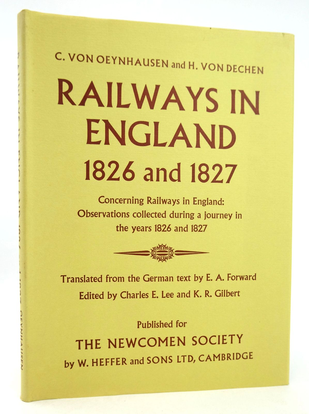Photo of RAILWAYS IN ENGLAND 1826 AND 1827- Stock Number: 1819244