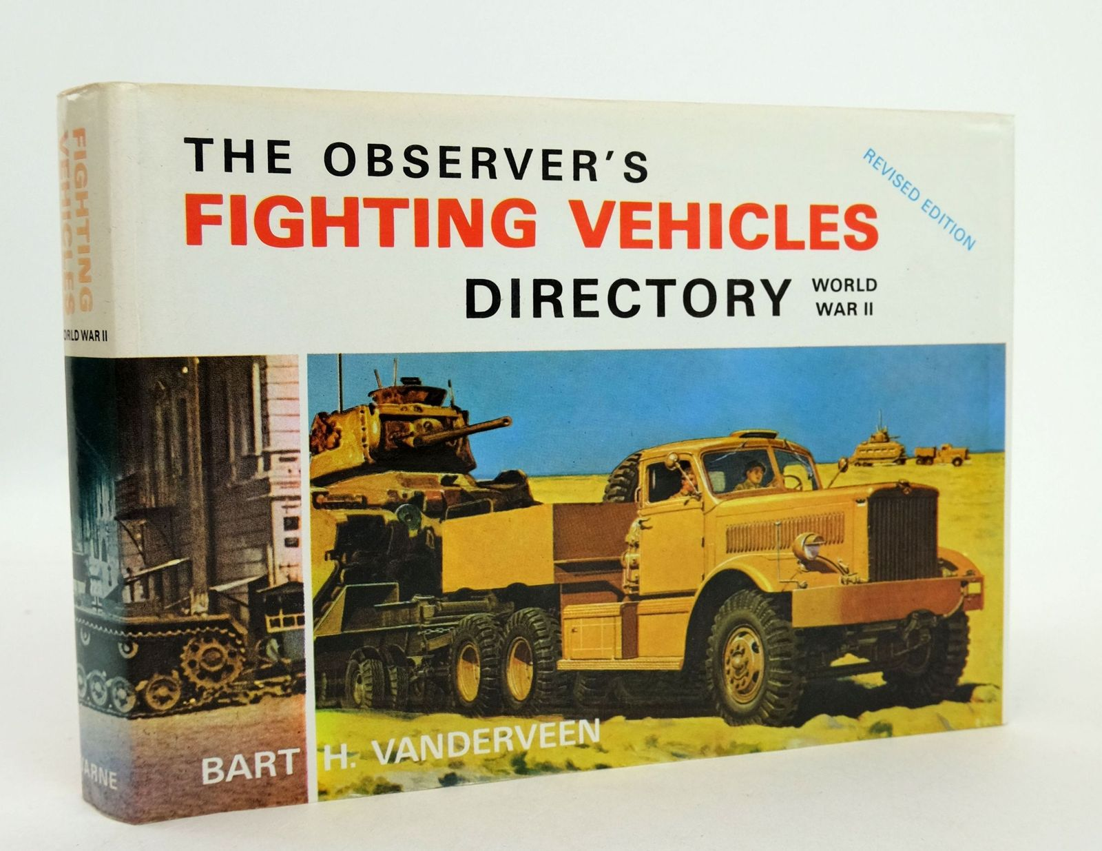 Photo of THE OBSERVER'S FIGHTING VEHICLES DIRECTORY WORLD WAR II written by Vanderveen, Bart H. published by Frederick Warne & Co Ltd. (STOCK CODE: 1819245)  for sale by Stella & Rose's Books