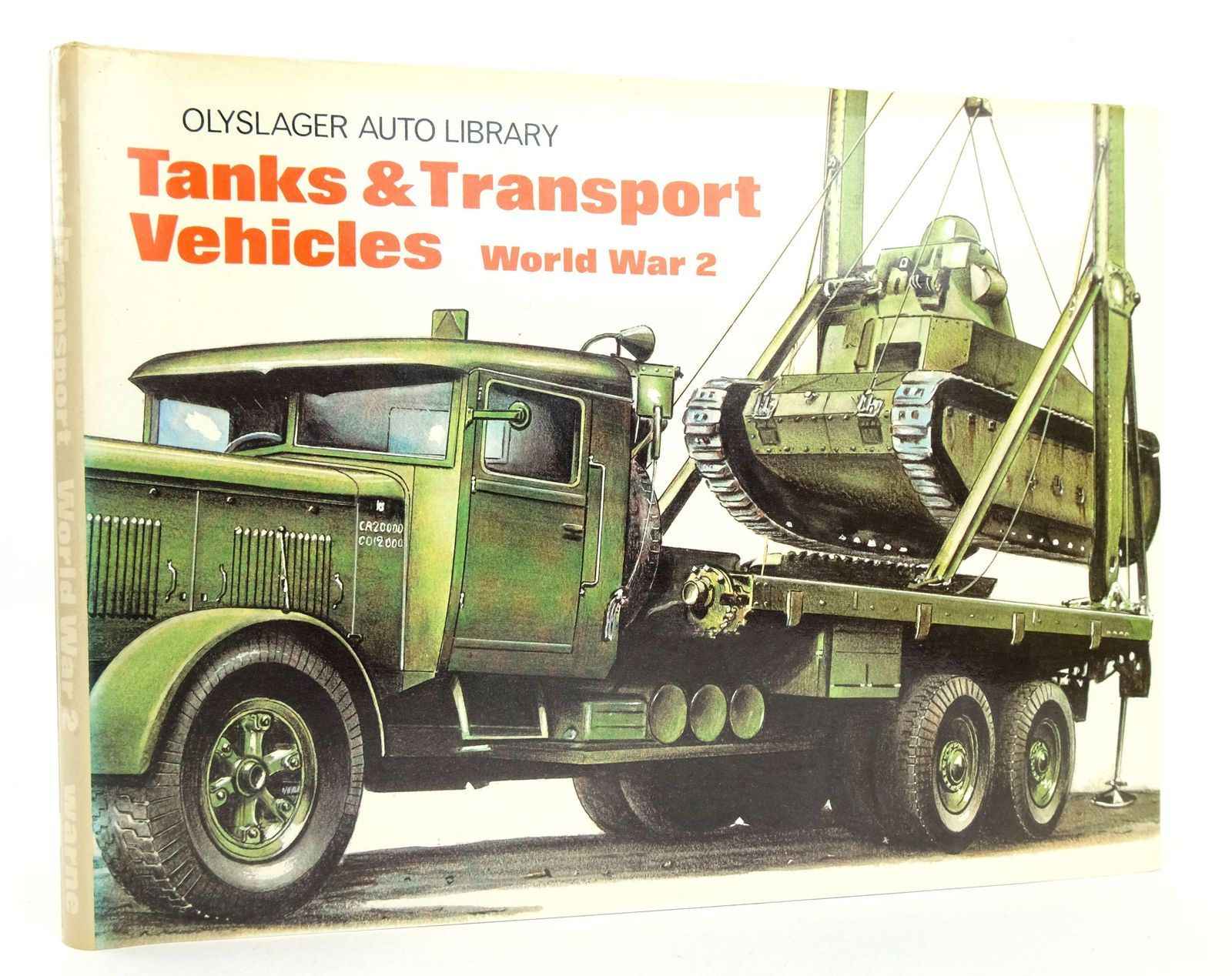 Photo of TANKS & TRANSPORT VEHICLES WORLD WAR 2 written by Vanderveen, Bart H. published by Frederick Warne & Co Ltd. (STOCK CODE: 1819248)  for sale by Stella & Rose's Books