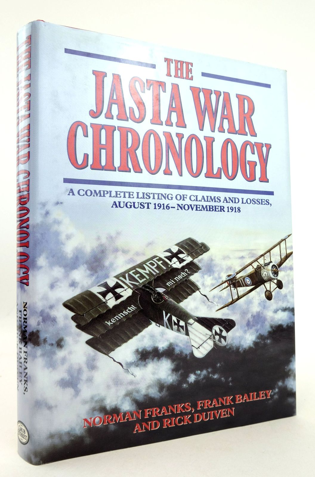 Photo of THE JASTA WAR CHRONOLOGY written by Franks, Norman Bailey, Frank Duiven, Rick published by Grub Street (STOCK CODE: 1819253)  for sale by Stella & Rose's Books