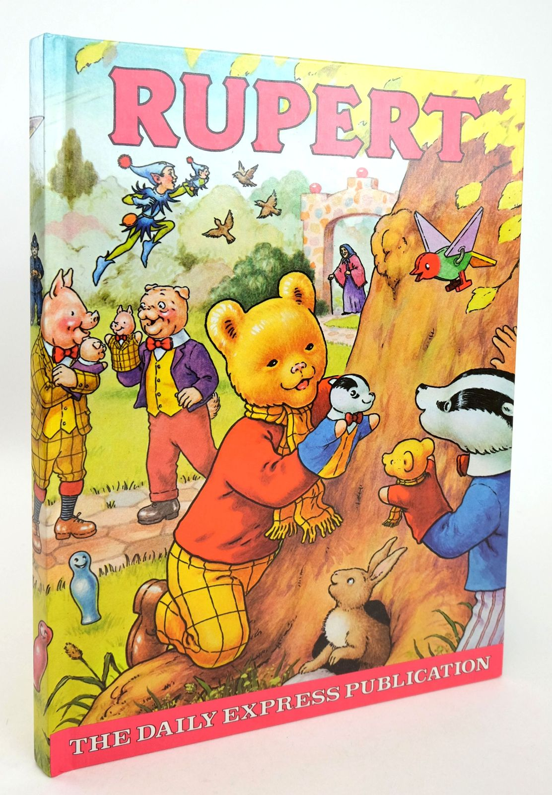 Photo of RUPERT ANNUAL 1980 illustrated by Harrold, John published by Express Newspapers Ltd. (STOCK CODE: 1819254)  for sale by Stella & Rose's Books