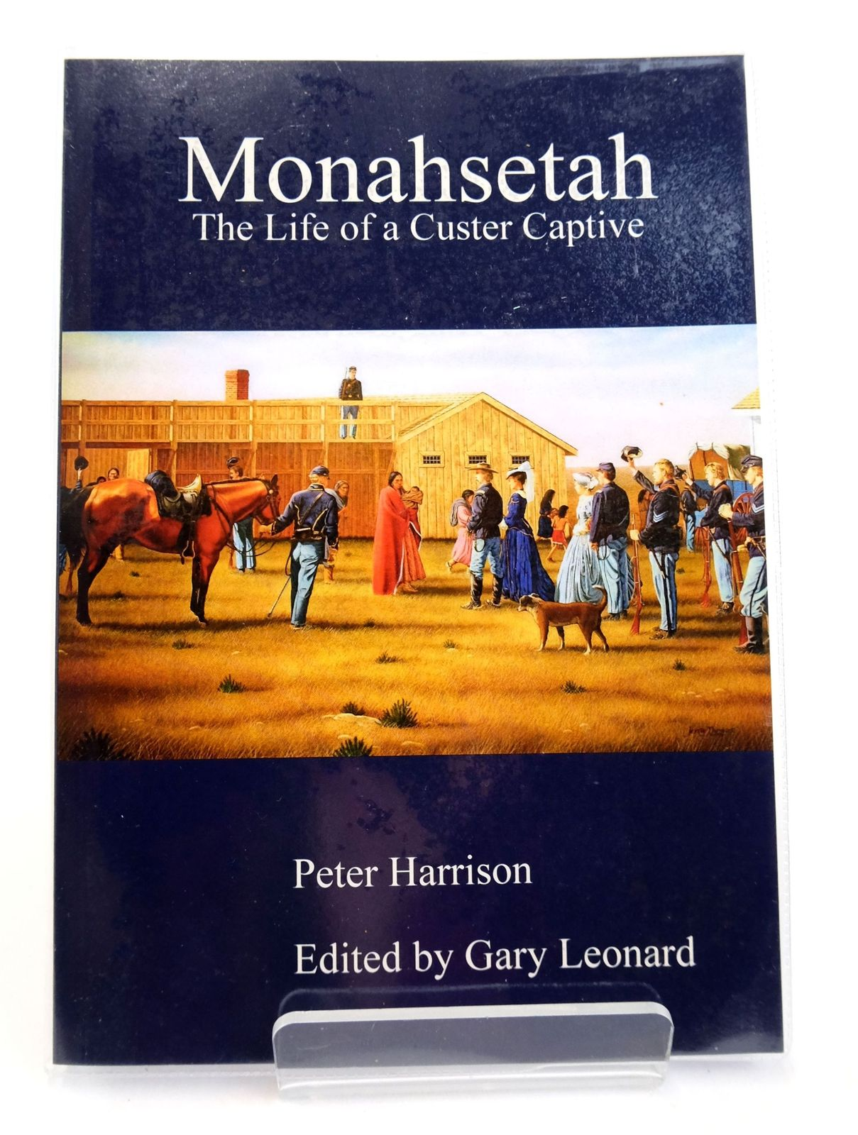 Photo of MONAHSETAH: THE LIFE OF A CUSTER CAPTIVE written by Harrison, Peter Leonard, Gary published by Chetwynd Press (STOCK CODE: 1819265)  for sale by Stella & Rose's Books