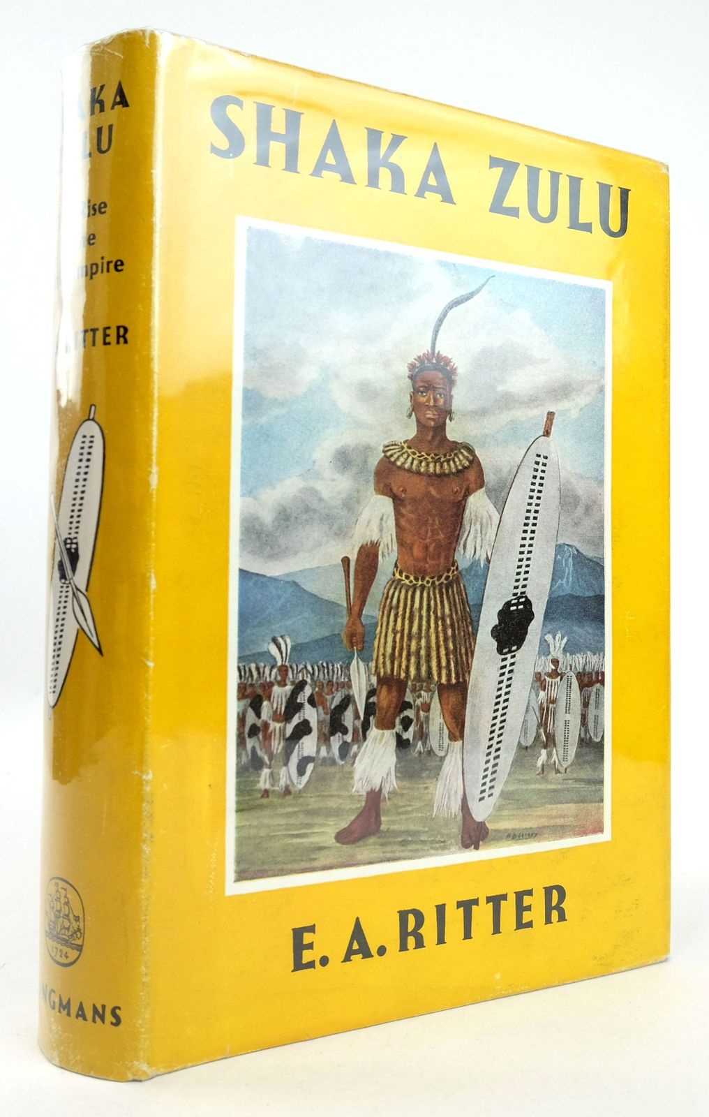 Photo of SHAKA ZULU: THE RISE OF THE ZULU EMPIRE written by Ritter, E.A. published by Longmans, Green & Co. (STOCK CODE: 1819273)  for sale by Stella & Rose's Books
