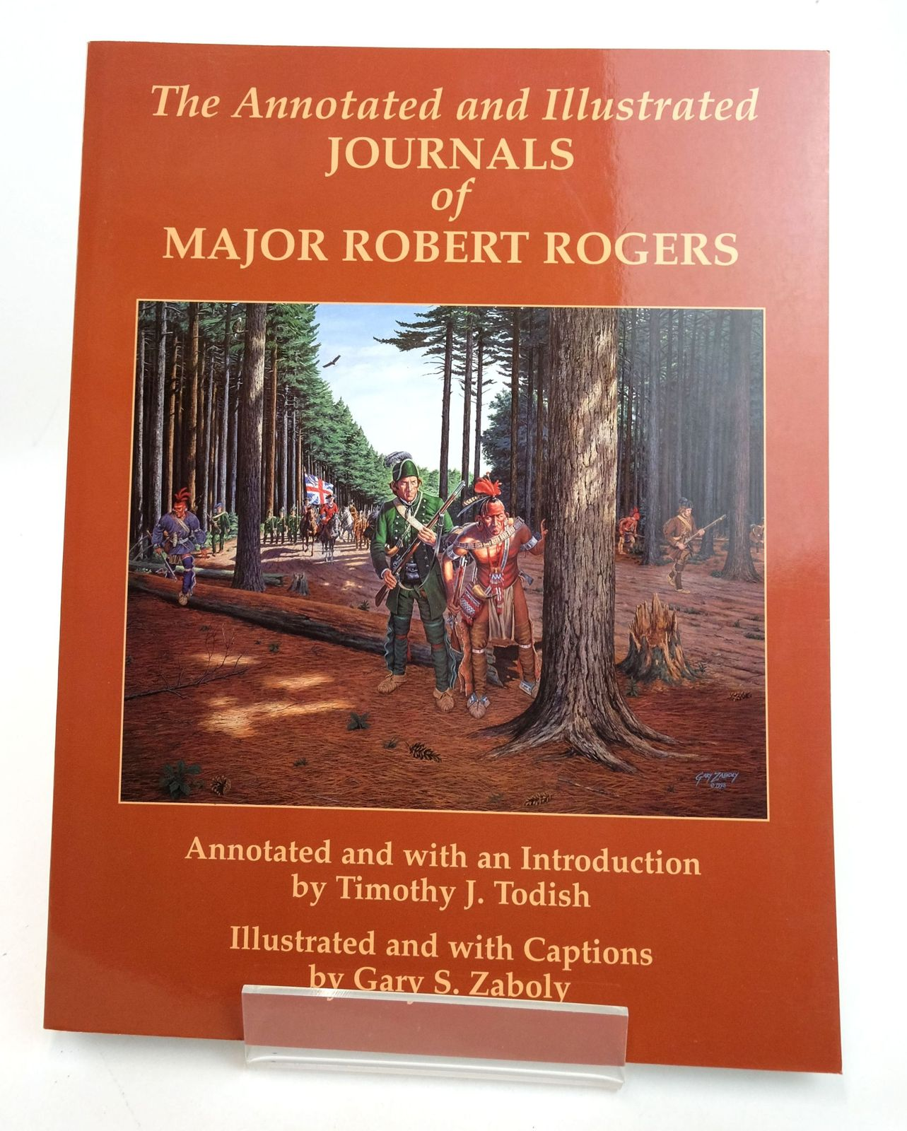 Photo of THE ANNOTATED AND ILLUSTRATED JOURNALS OF MAJOR ROBERT ROGERS- Stock Number: 1819278