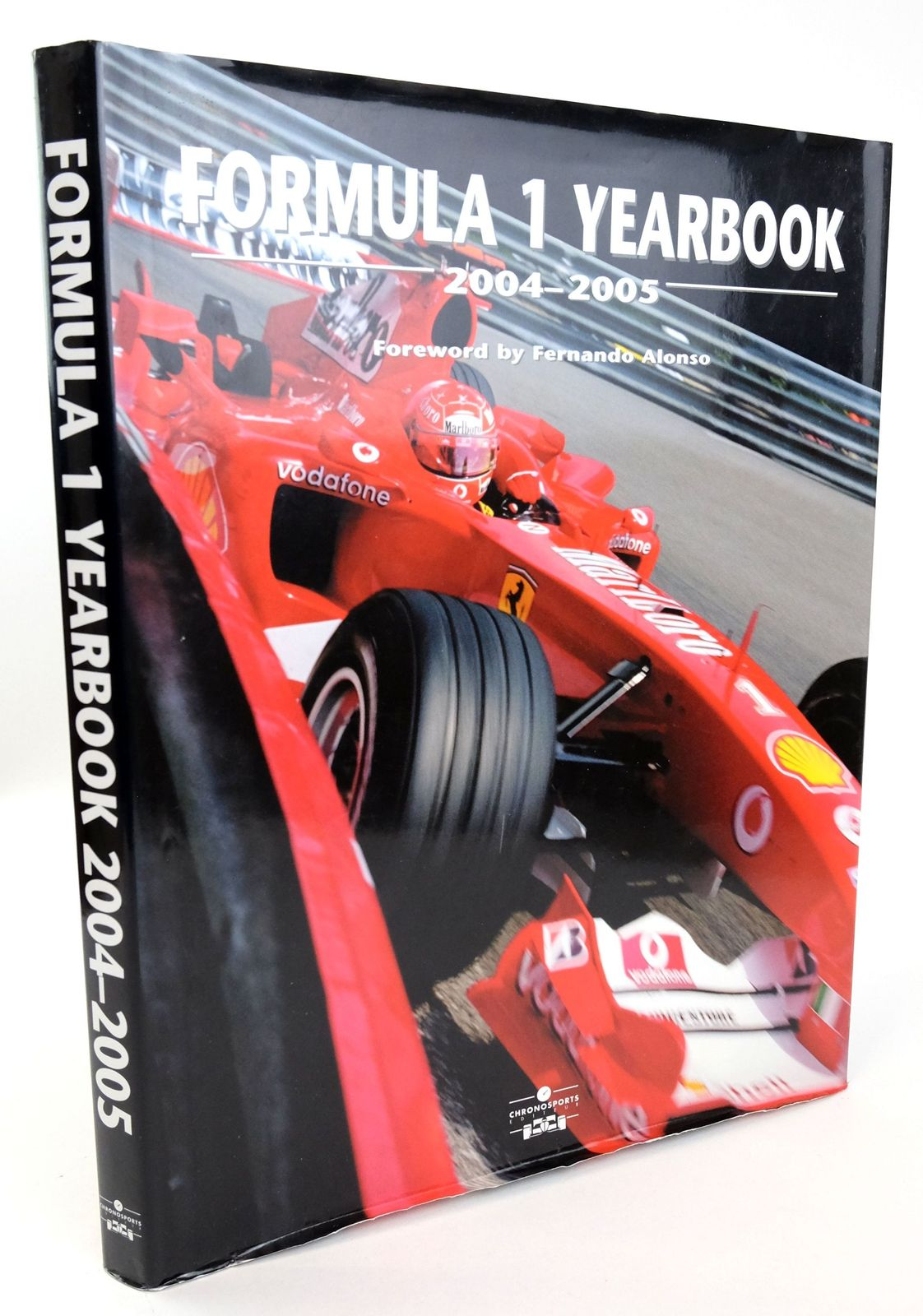 Photo of FORMULA 1 YEARBOOK 2004-05 written by Domenjoz, Luc published by Chronosports (STOCK CODE: 1819283)  for sale by Stella & Rose's Books