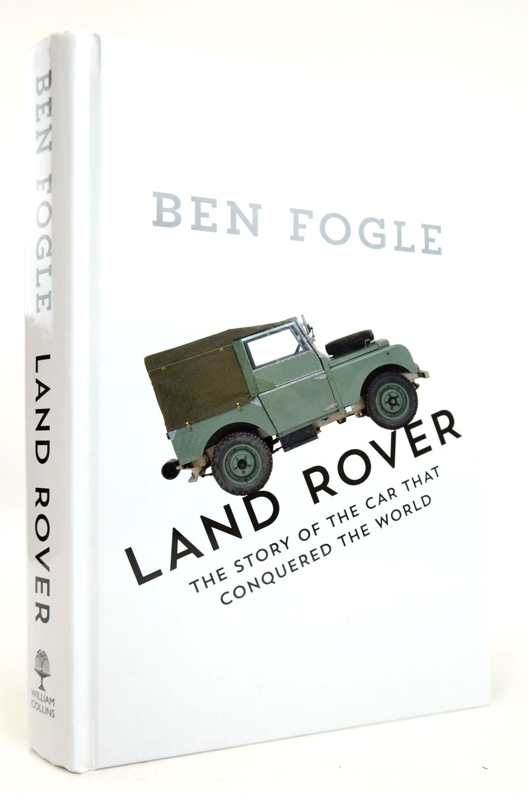 Photo of LAND ROVER: THE STORY OF THE CAR THAT CONQUERED THE WORLD written by Fogle, Ben published by William Collins (STOCK CODE: 1819291)  for sale by Stella & Rose's Books