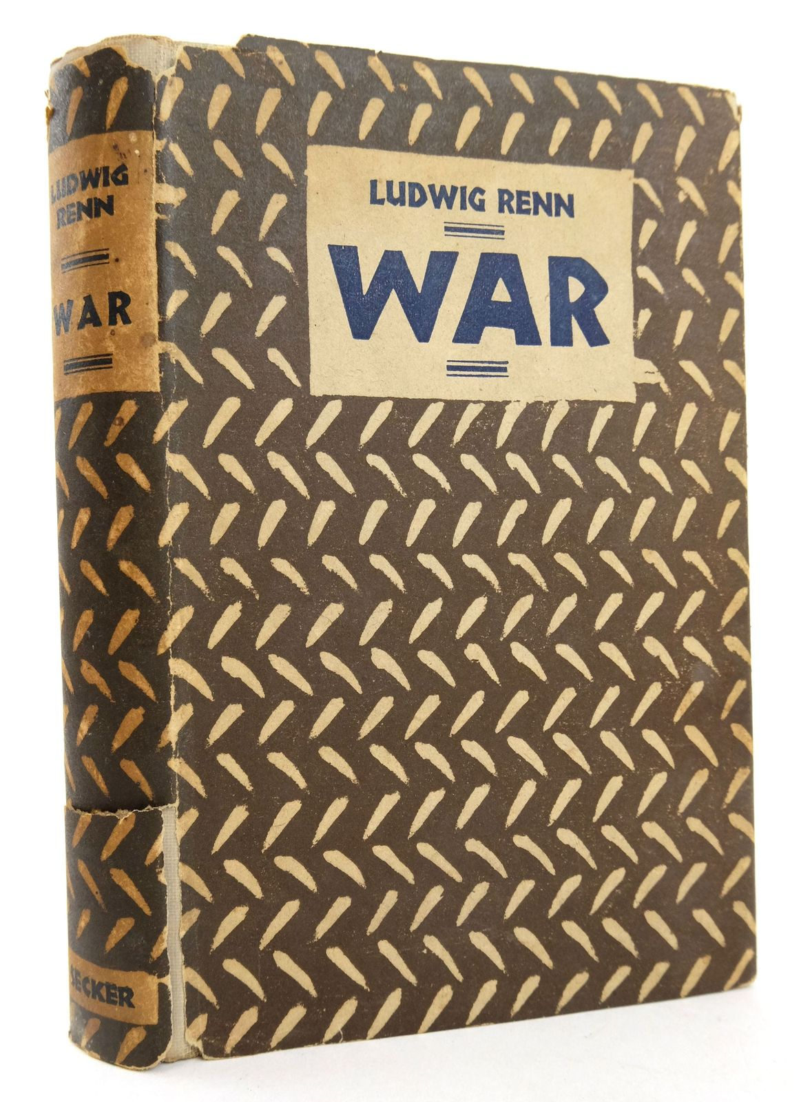 Photo of WAR written by Renn, Ludwig published by Martin Secker (STOCK CODE: 1819296)  for sale by Stella & Rose's Books