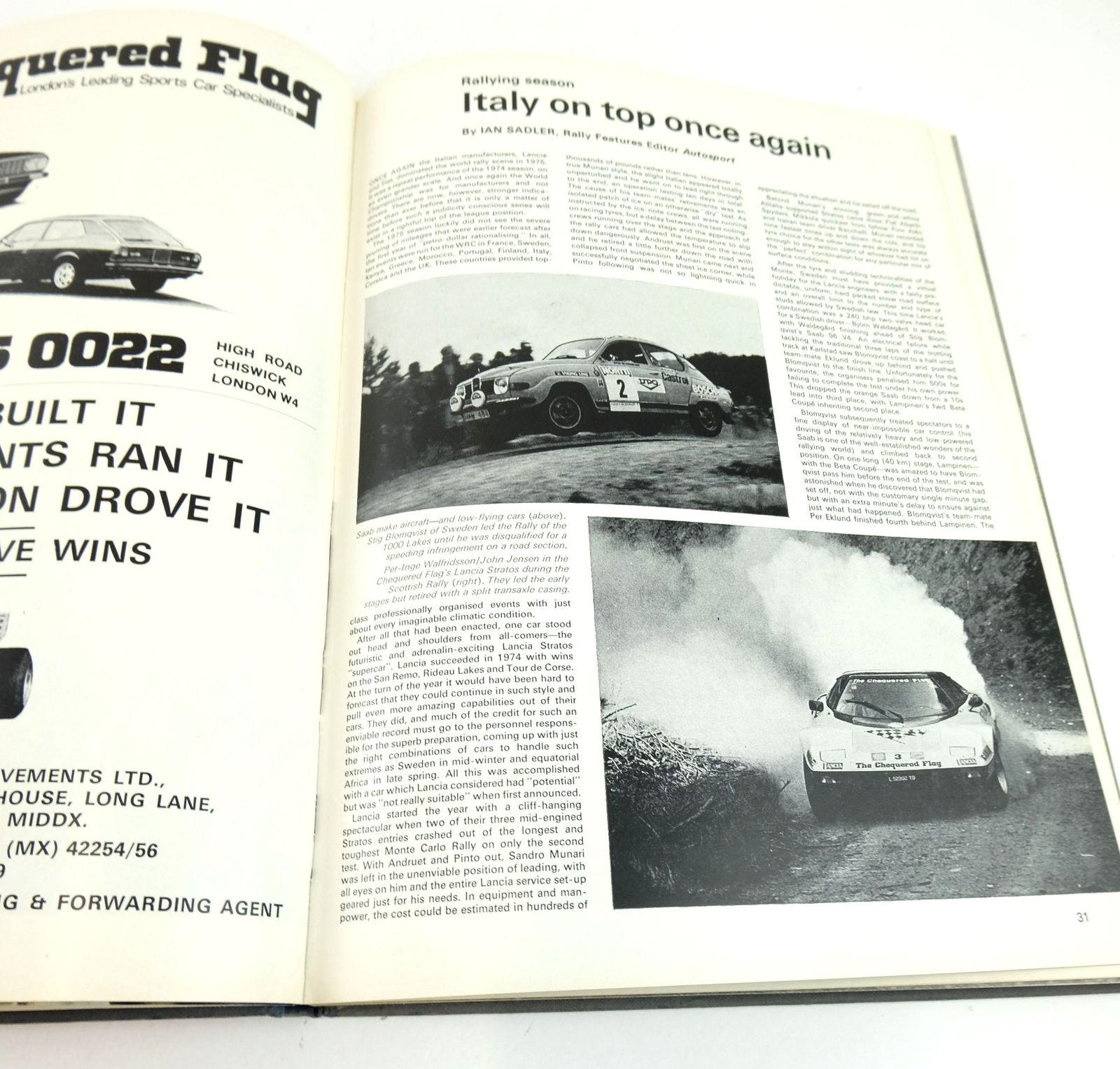 Photo of AUTOCOURSE 1975-76 written by Kettlewell, Mike published by Hazleton Securities (STOCK CODE: 1819299)  for sale by Stella & Rose's Books