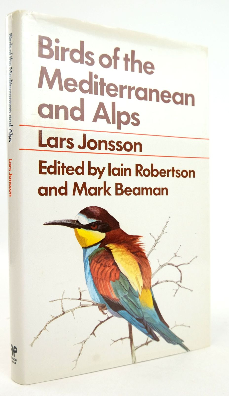 Photo of BIRDS OF THE MEDITERRANEAN AND ALPS written by Jonsson, Lars illustrated by Jonsson, Lars published by Croom Helm (STOCK CODE: 1819315)  for sale by Stella & Rose's Books