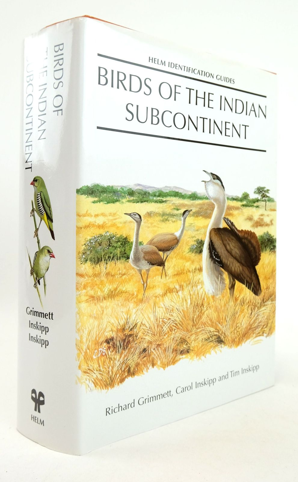 Photo of BIRDS OF THE INDIAN SUBCONTINENT (HELM IDENTIFICATION GUIDES) written by Grimmett, Richard Inskipp, Carol Inkskipp, Tim et al,  illustrated by Byers, Clive Cole, Daniel et al.,  published by Christopher Helm (STOCK CODE: 1819318)  for sale by Stella & Rose's Books