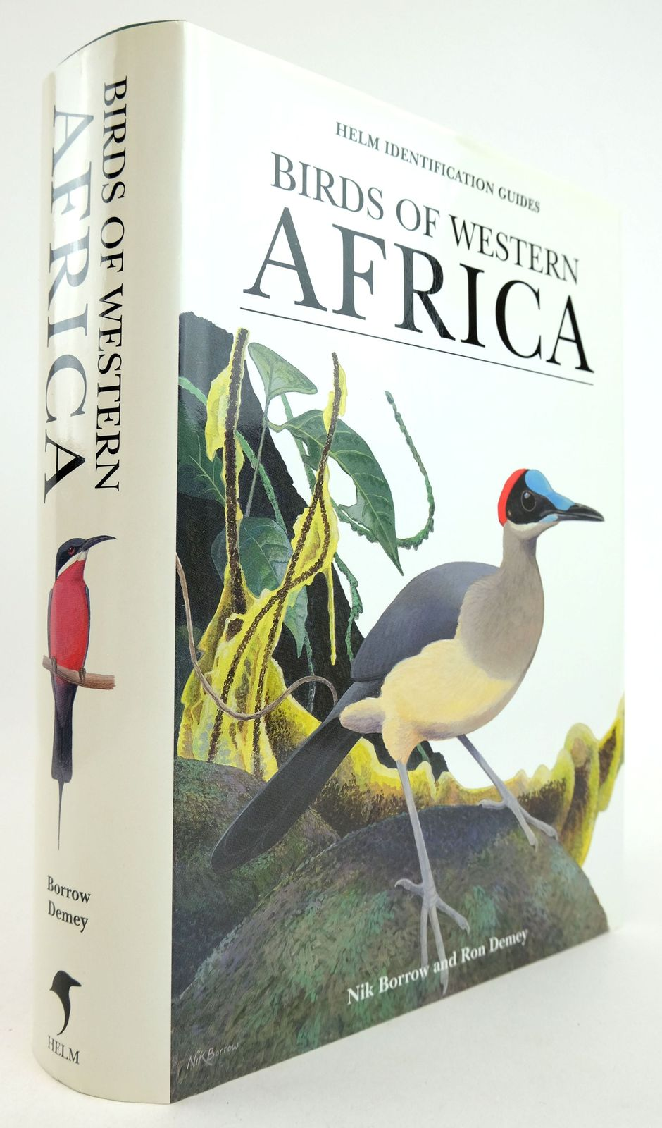 Photo of BIRDS OF WESTERN AFRICA (HELM IDENTIFICATION GUIDES) written by Demey, Ron illustrated by Borrow, Nik published by Christopher Helm (STOCK CODE: 1819322)  for sale by Stella & Rose's Books