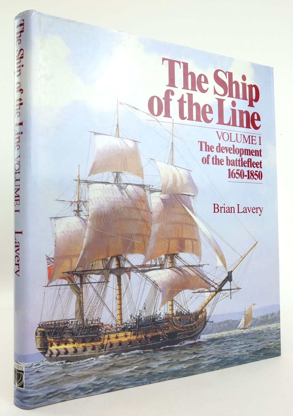 Photo of THE SHIP OF THE LINE VOLUME I- Stock Number: 1819326