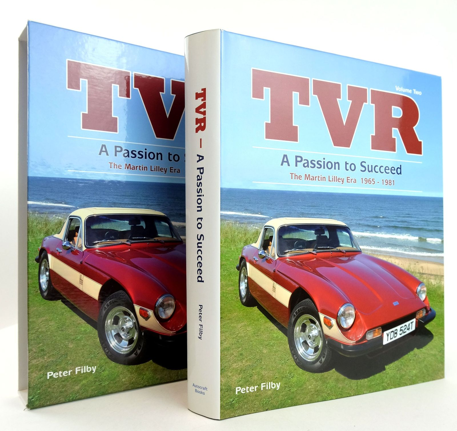 Photo of TVR VOLUME TWO: A PASSION TO SUCCEED THE MARTIN LILLEY ERA 1965-1981- Stock Number: 1819331