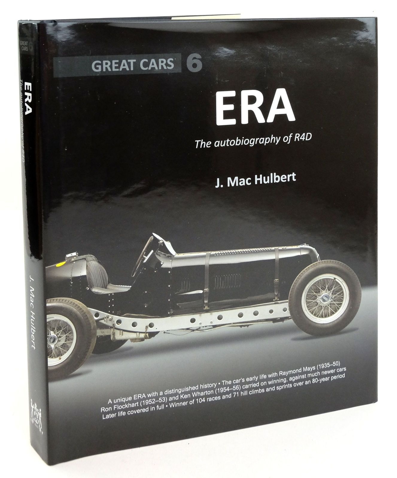 Photo of GREAT CARS: ERA THE AUTOBIOGRAPHY OF R4D written by Hulbert, J. Mac published by Porter Press International Ltd (STOCK CODE: 1819333)  for sale by Stella & Rose's Books