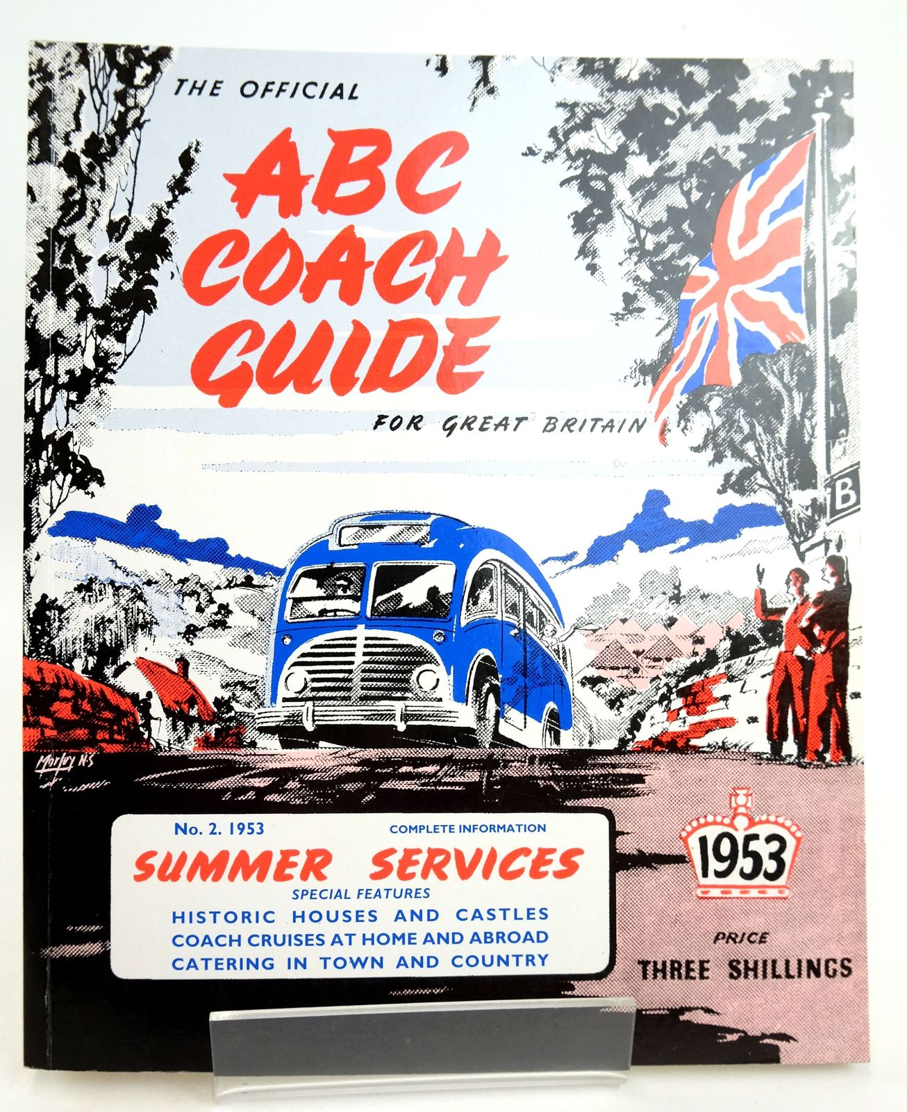 Photo of THE OFFICIAL ABC COACH GUIDE FOR GREAT BRITAIN No. 2, 1953 SUMMER SERVICES- Stock Number: 1819334